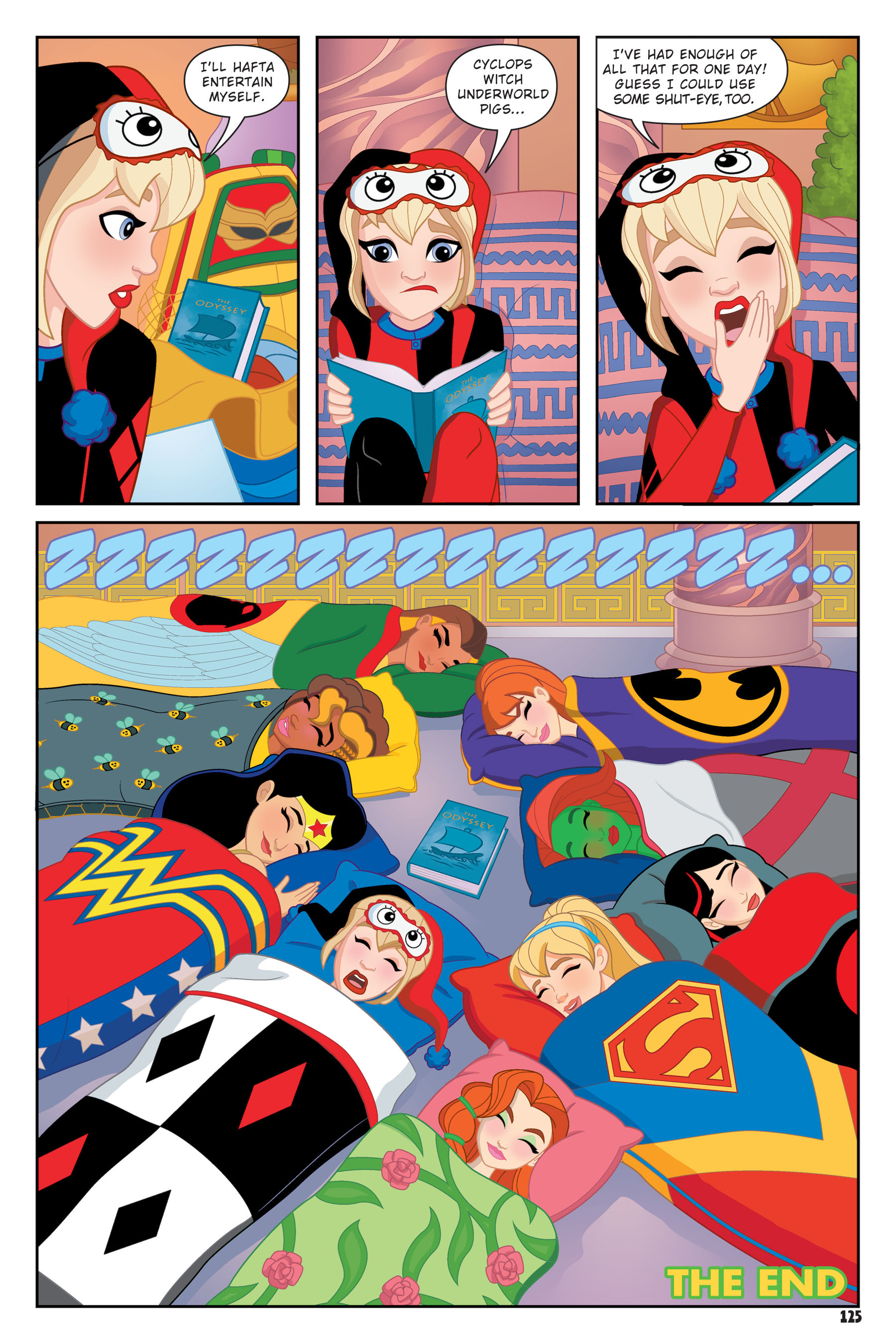 Read online DC Super Hero Girls: Hits and Myths comic -  Issue # Full - 120