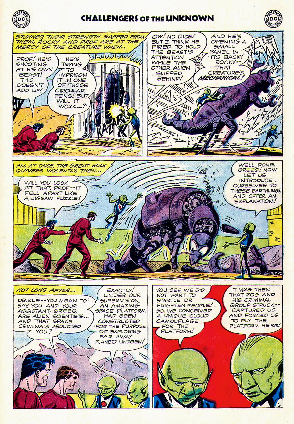 Challengers of the Unknown (1958) issue 23 - Page 23