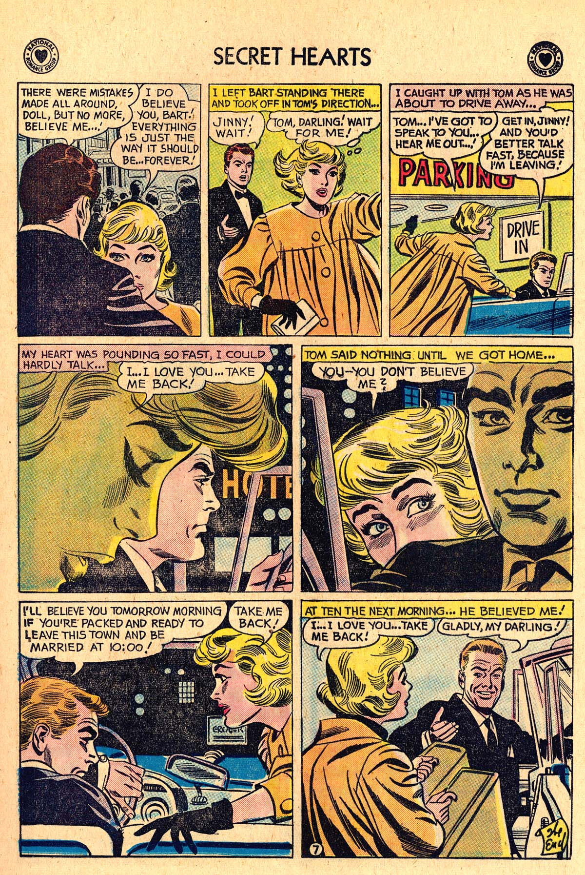 Read online Secret Hearts comic -  Issue #60 - 9