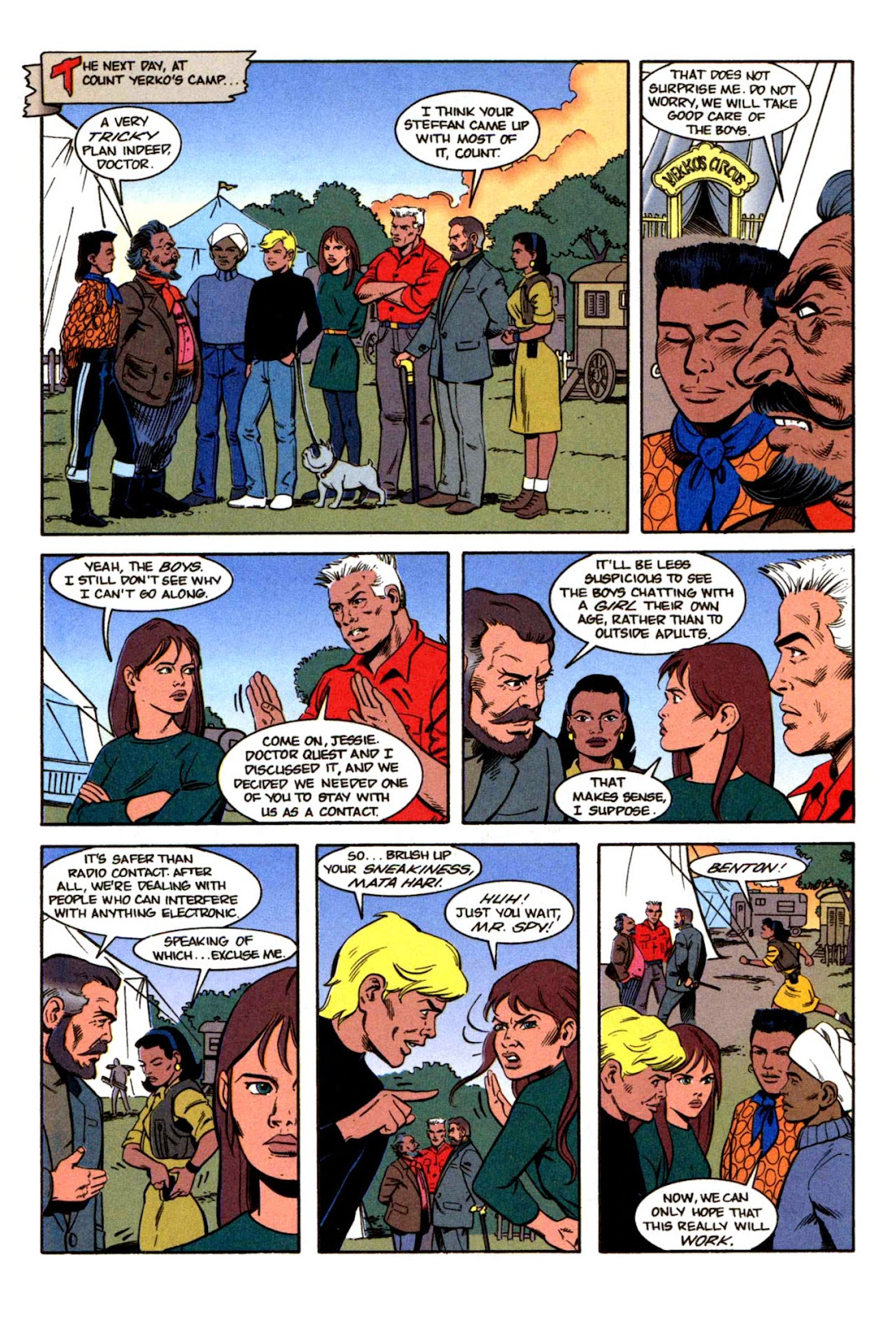 Read online The Real Adventures of Jonny Quest comic -  Issue #1 - 28