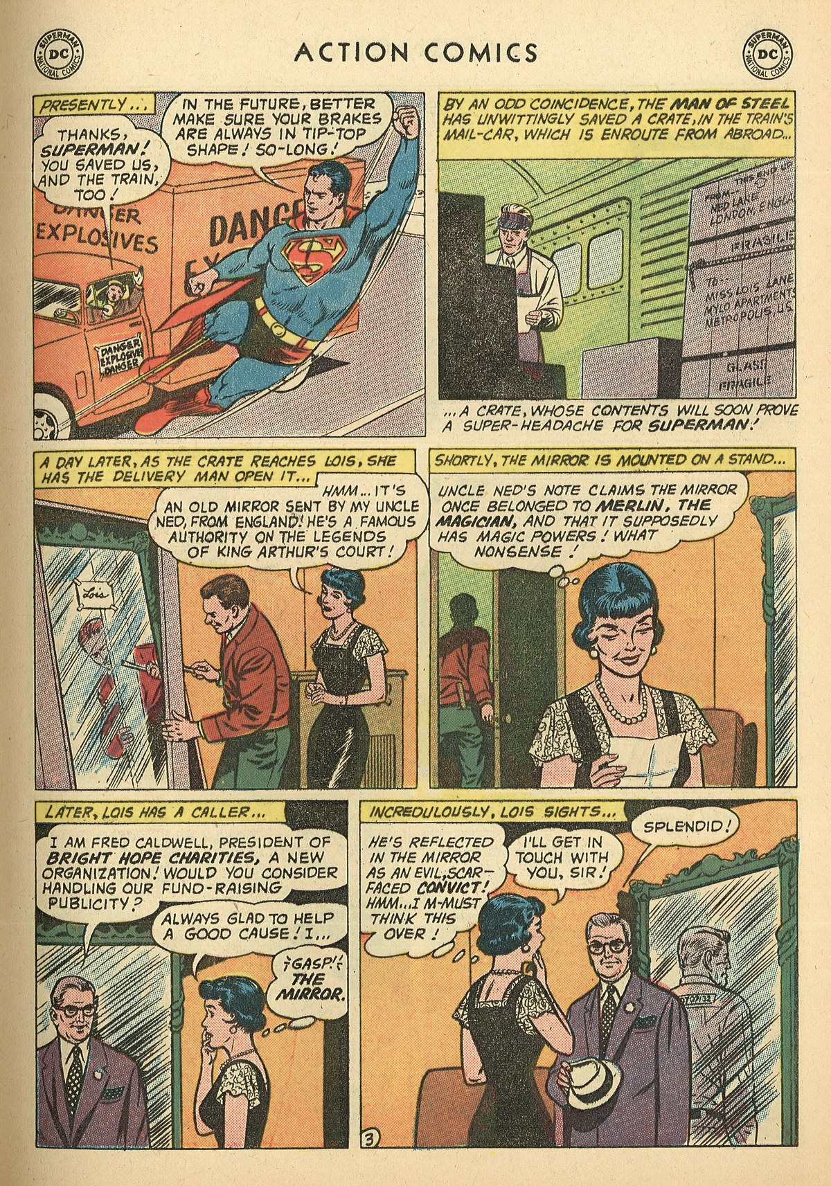 Read online Action Comics (1938) comic -  Issue #269 - 5