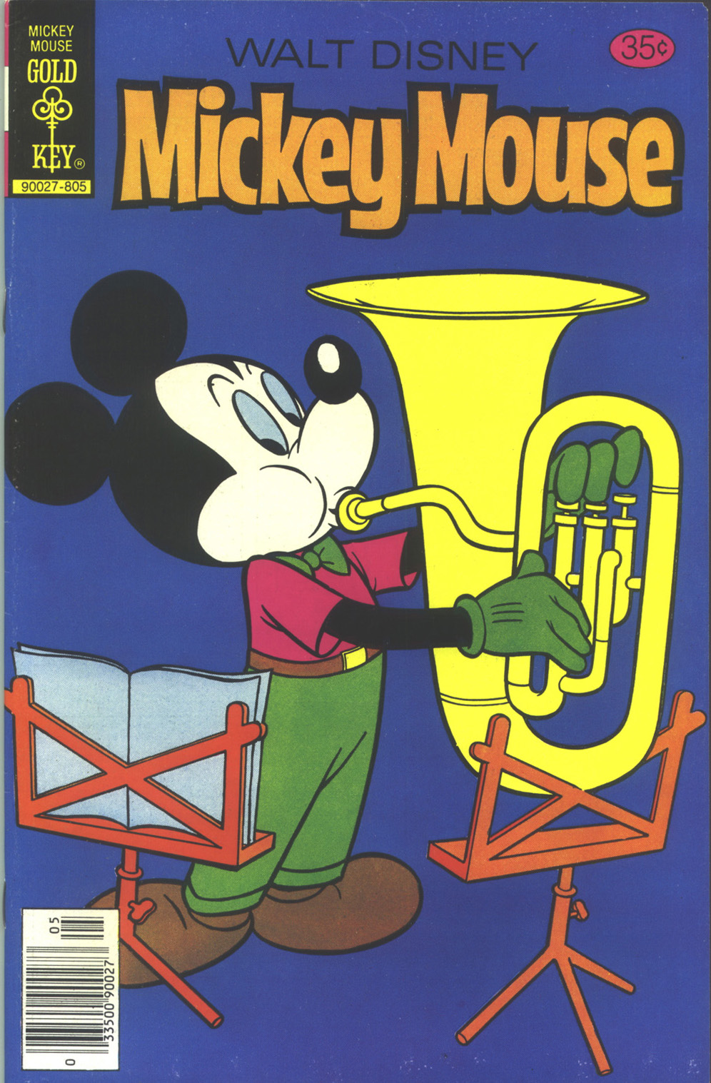 Walt Disney's Mickey Mouse issue 183 - Page 1