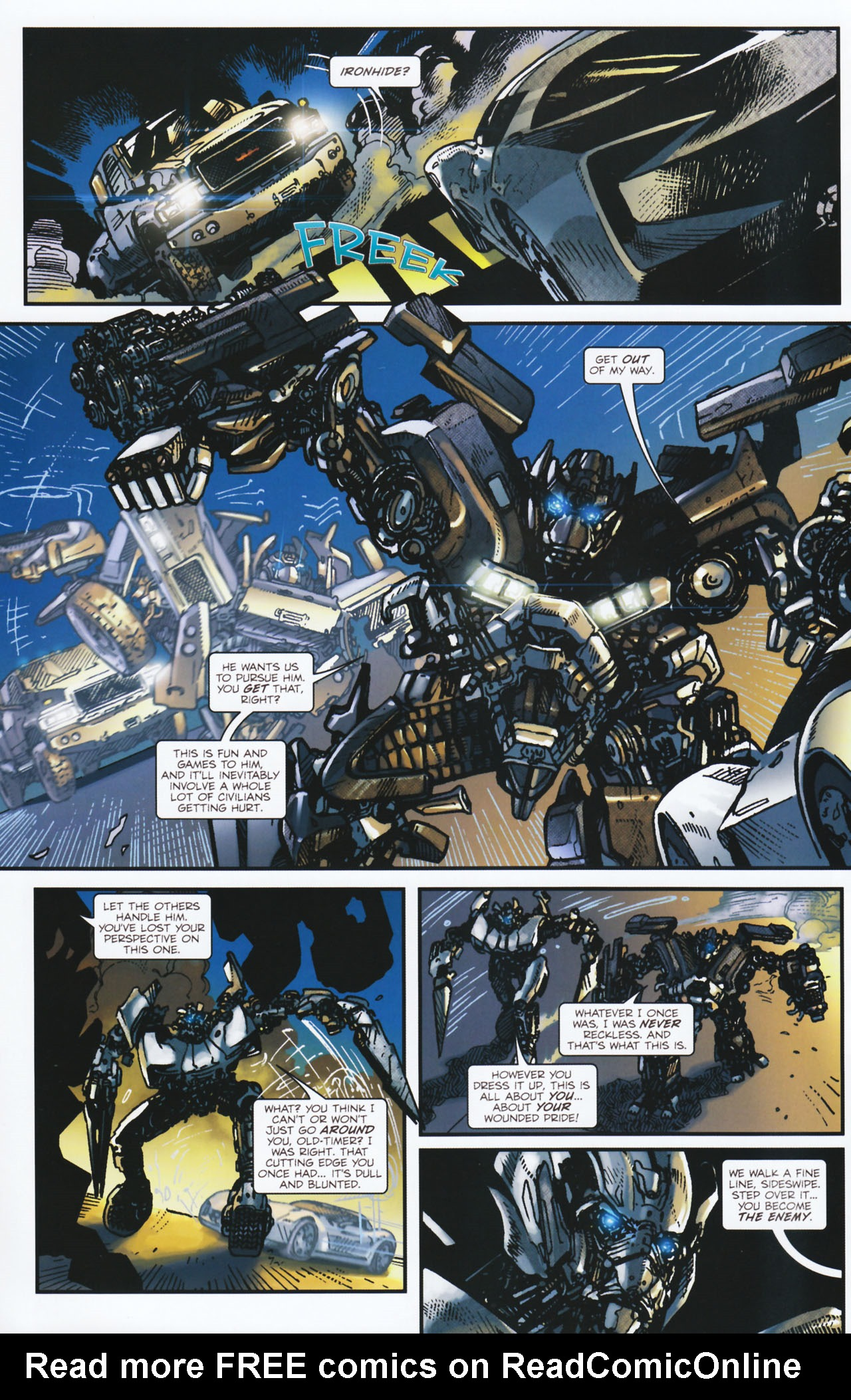 Read online Transformers: Tales of The Fallen comic -  Issue #2 - 17
