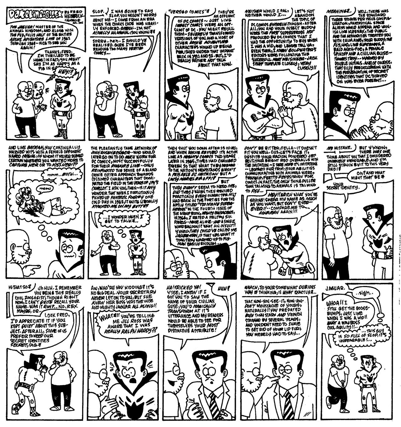 Read online The Nearly Complete Essential Hembeck Archives Omnibus comic -  Issue # TPB (Part 8) - 62