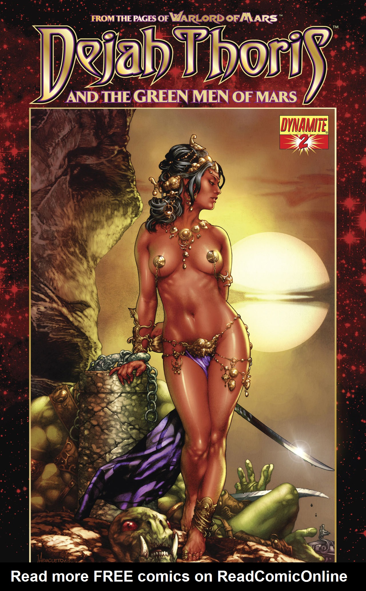 Dejah Thoris and the Green Men of Mars issue 2 - Page 1