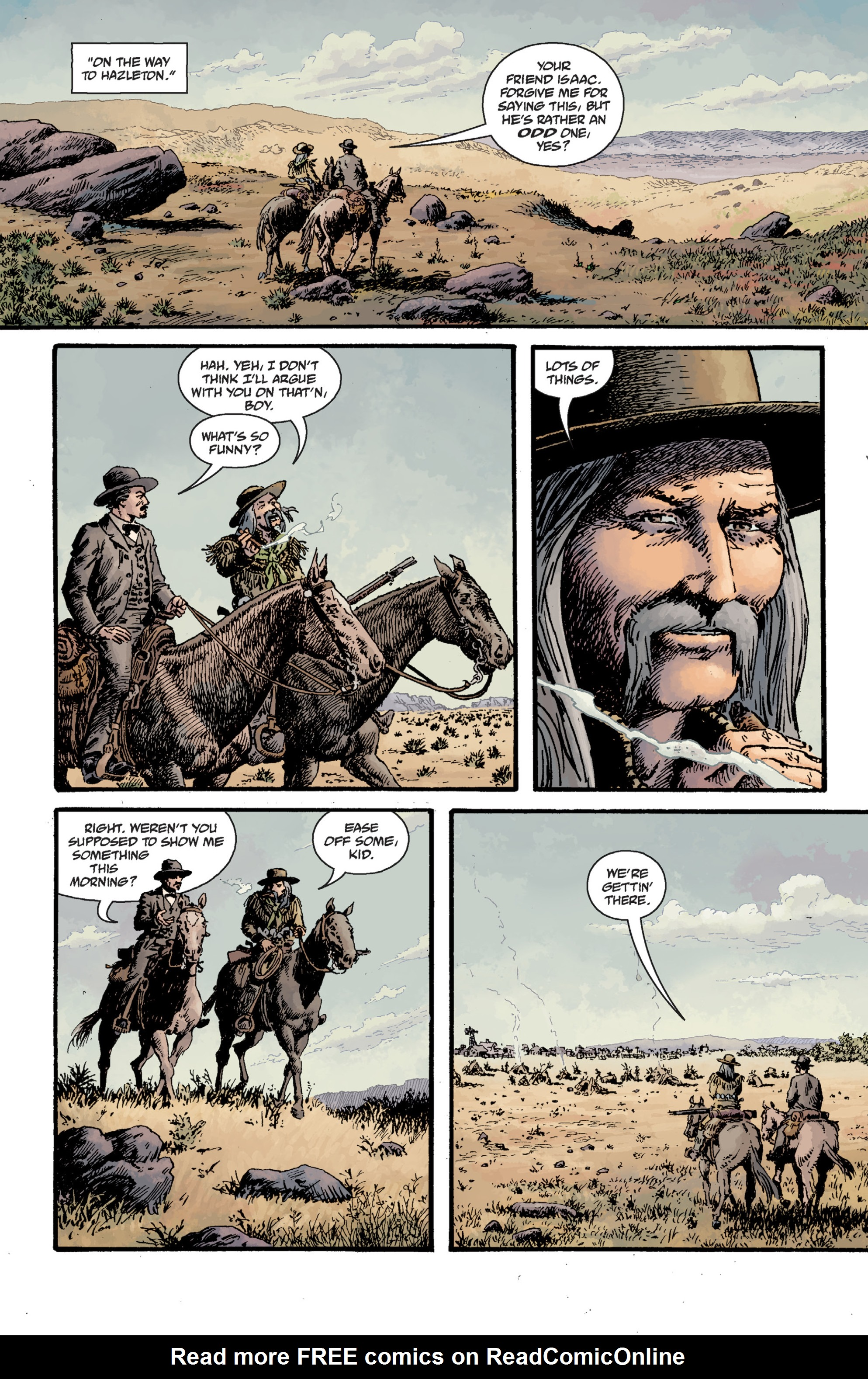 Read online Sir Edward Grey, Witchfinder: Lost and Gone Forever comic -  Issue # TPB - 35