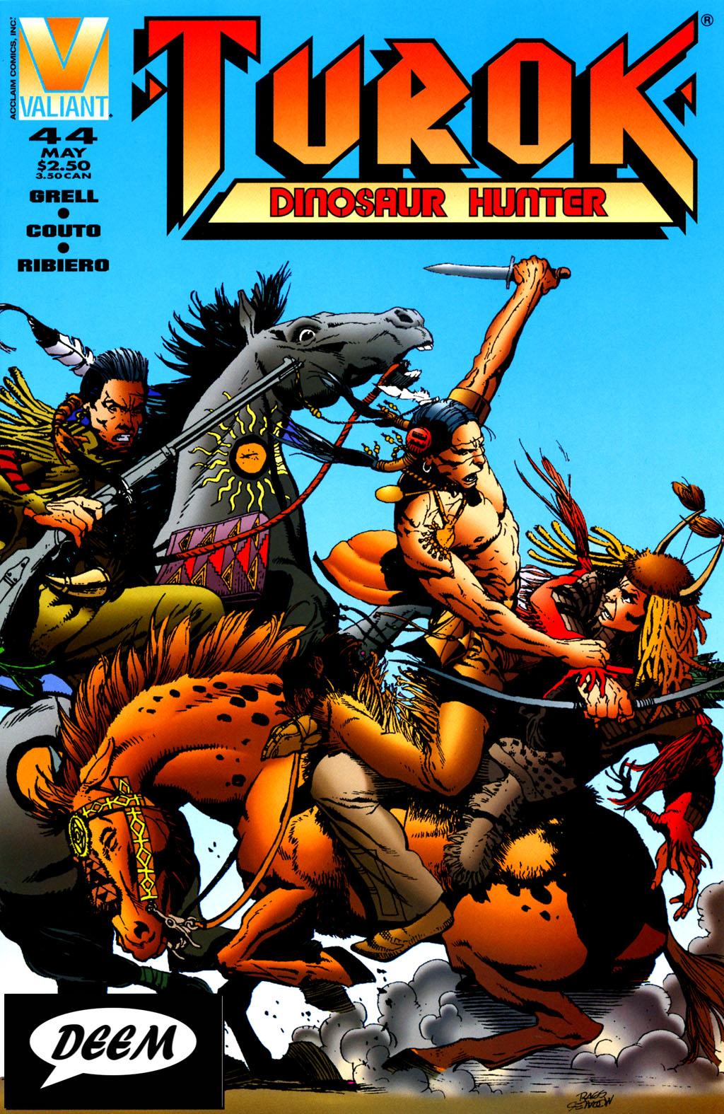 Read online Turok, Dinosaur Hunter (1993) comic -  Issue #44 - 1