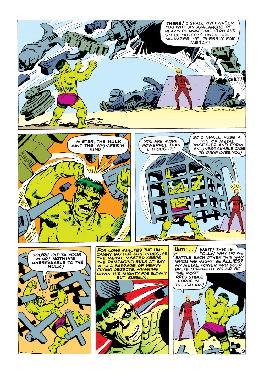 Read online Marvel Masterworks: The Incredible Hulk comic -  Issue # TPB 1 (Part 2) - 38