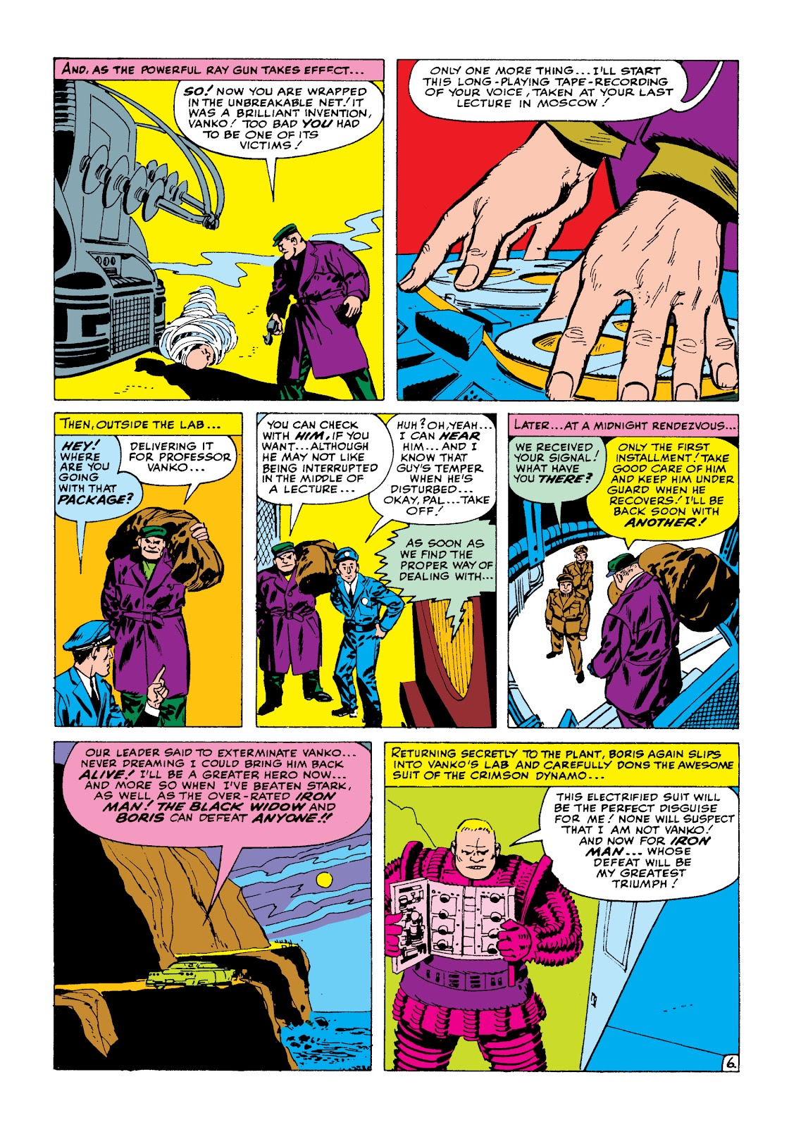Read online Marvel Masterworks: The Invincible Iron Man comic -  Issue # TPB 2 (Part 1) - 23