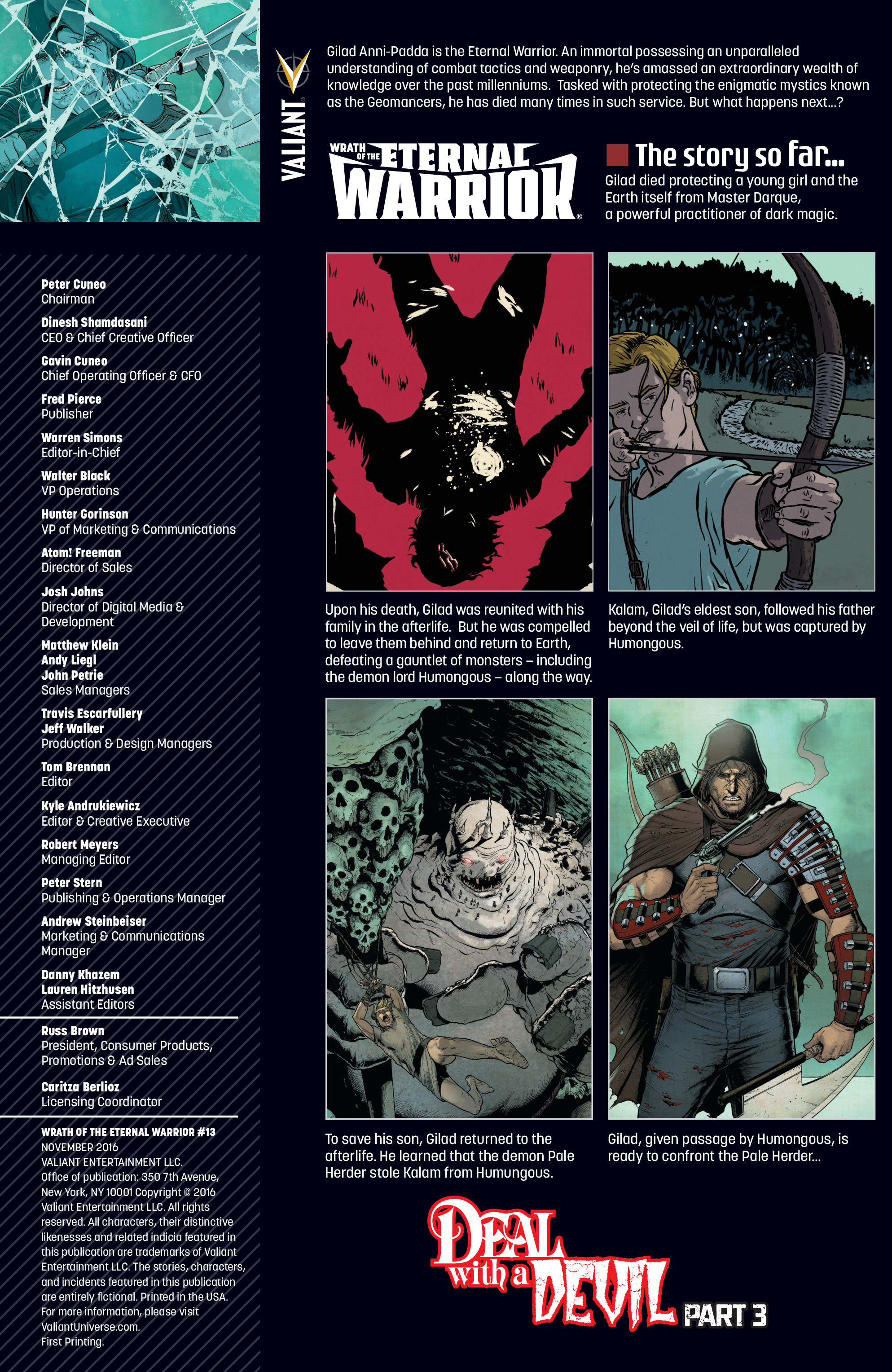 Read online Wrath of the Eternal Warrior comic -  Issue #13 - 2