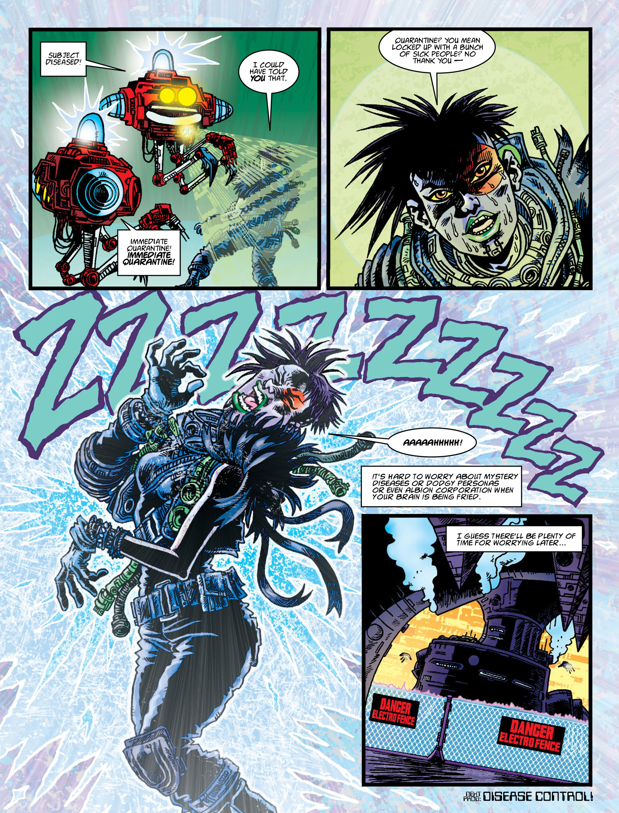 Read online 2000 AD comic -  Issue #2004 - 28