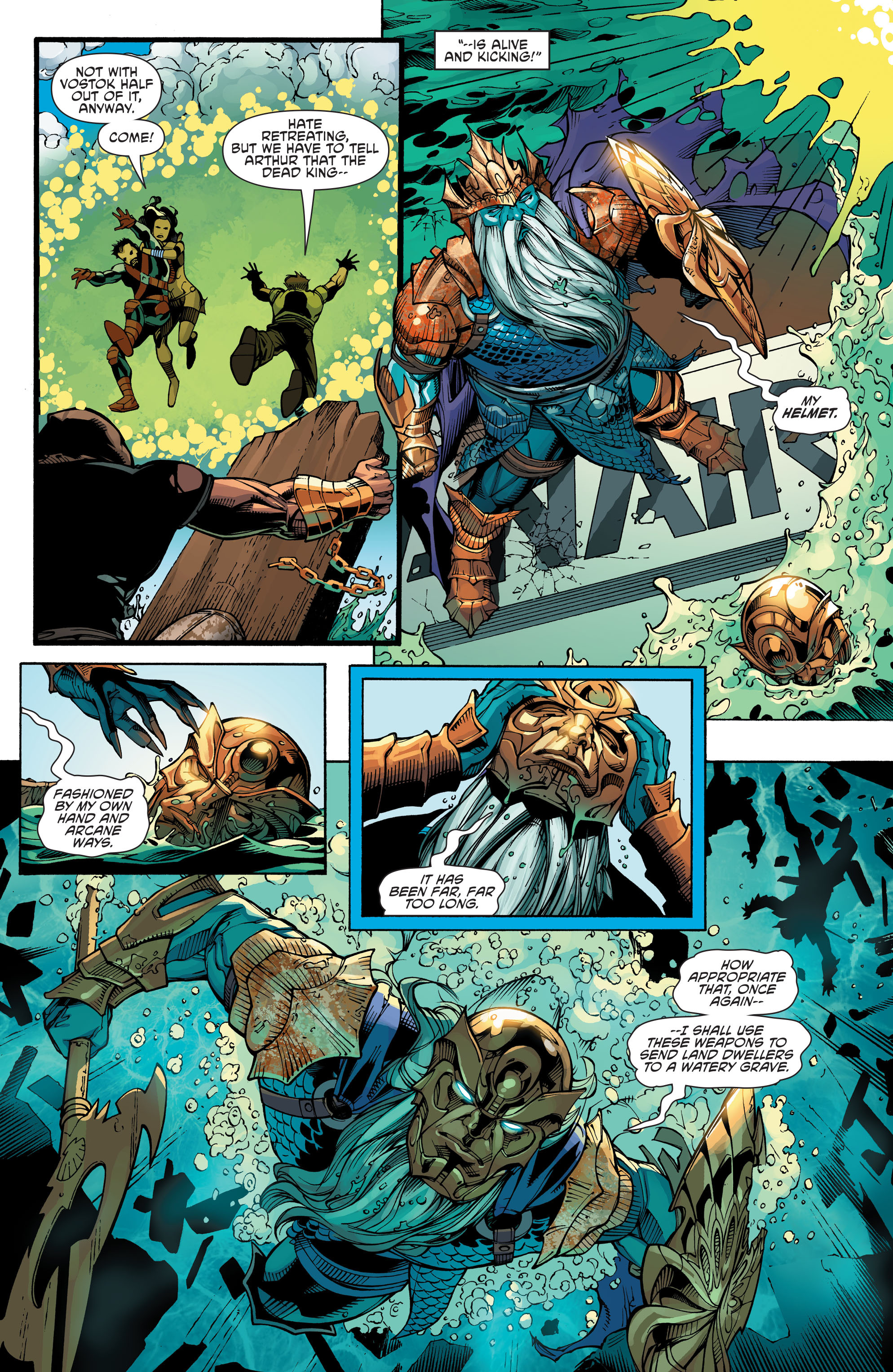 Read online Aquaman and the Others: Futures End comic -  Issue #Aquaman and the Others: Futures End Full - 6