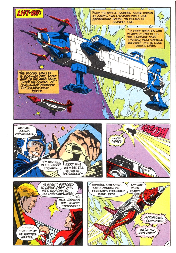 Read online Atari Force (1982) comic -  Issue #4 - 9