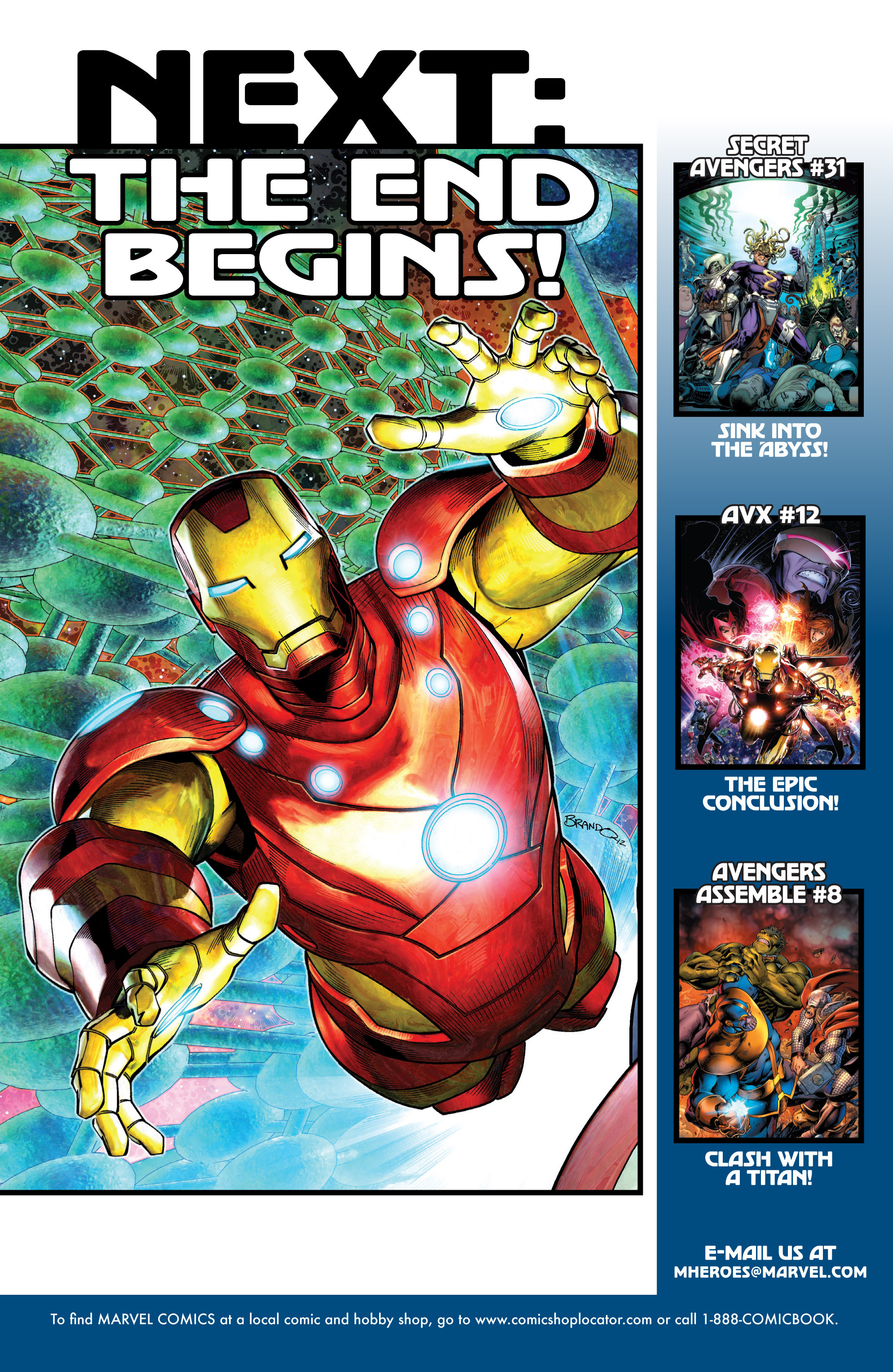Read online Avengers (2010) comic -  Issue #30 - 21