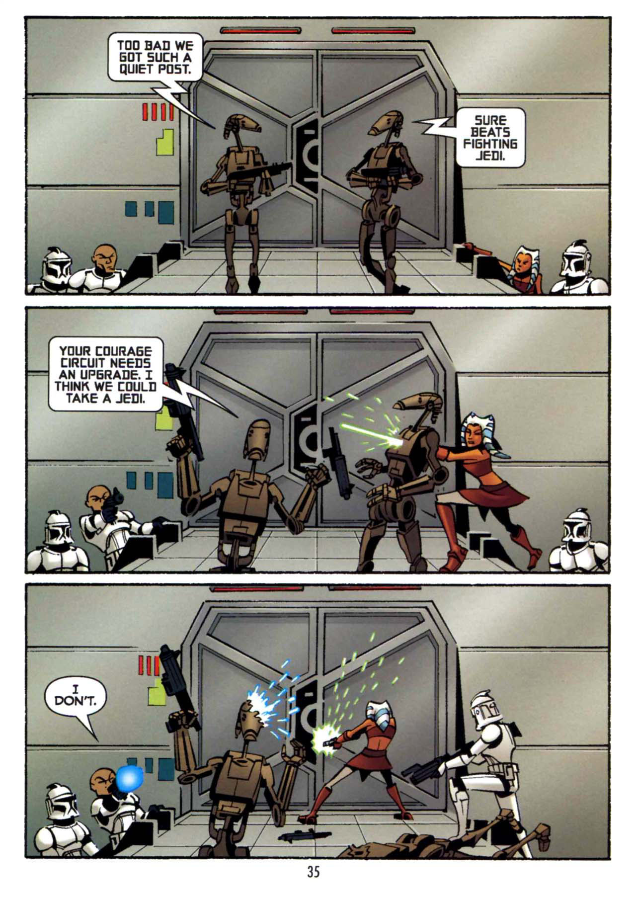 Read online Star Wars: The Clone Wars - Shipyards of Doom comic -  Issue # Full - 33