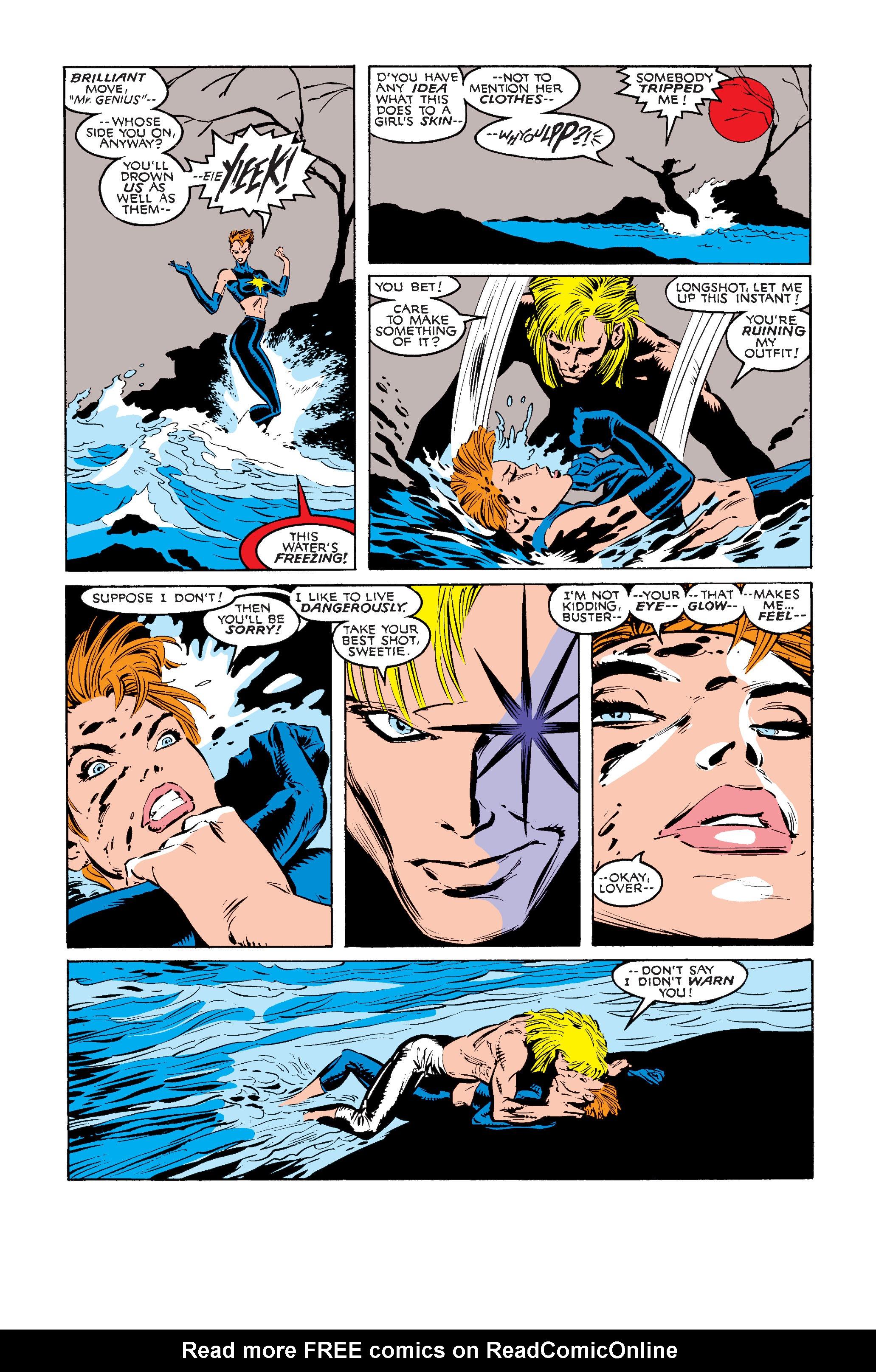 Read online Uncanny X-Men (1963) comic -  Issue #242 - 8