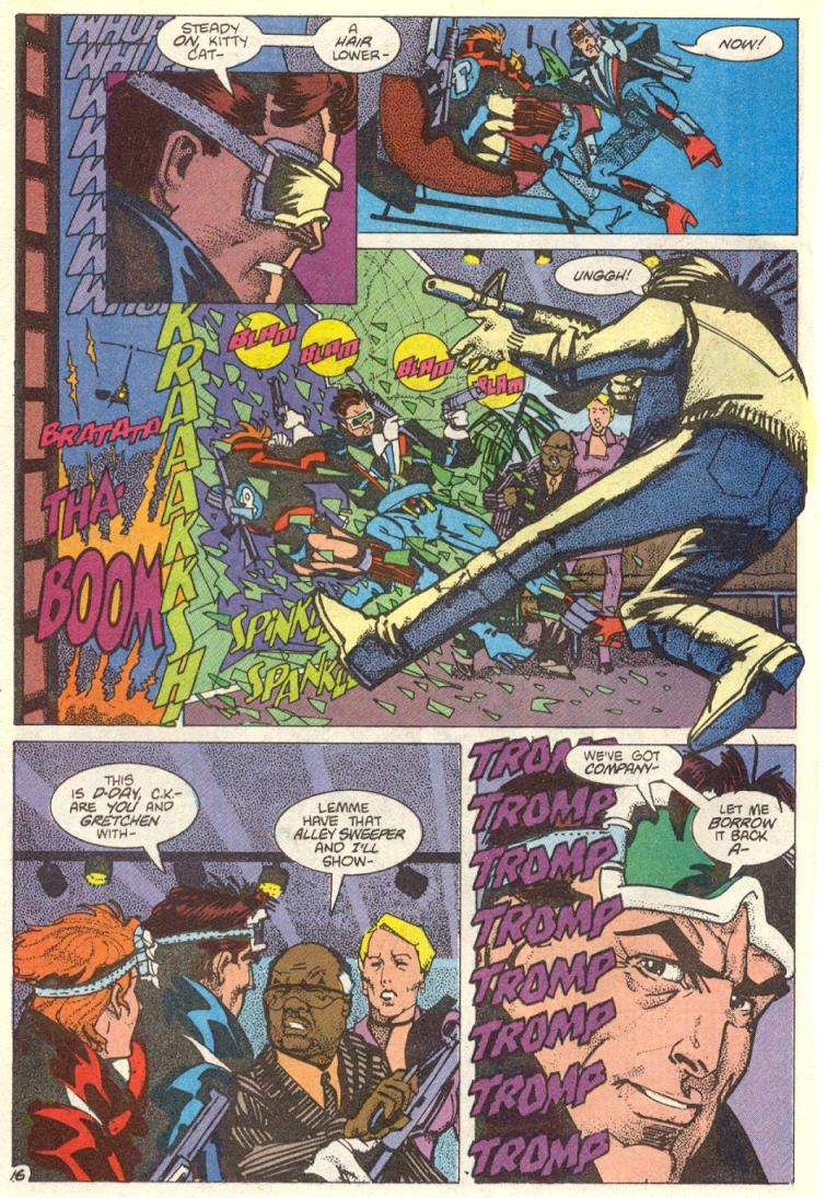 Read online American Flagg! comic -  Issue #12 - 17