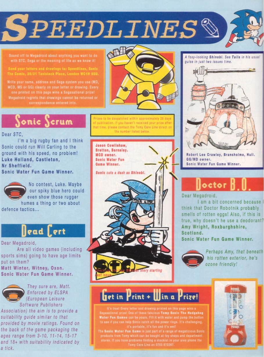Read online Sonic the Comic comic -  Issue #46 - 30