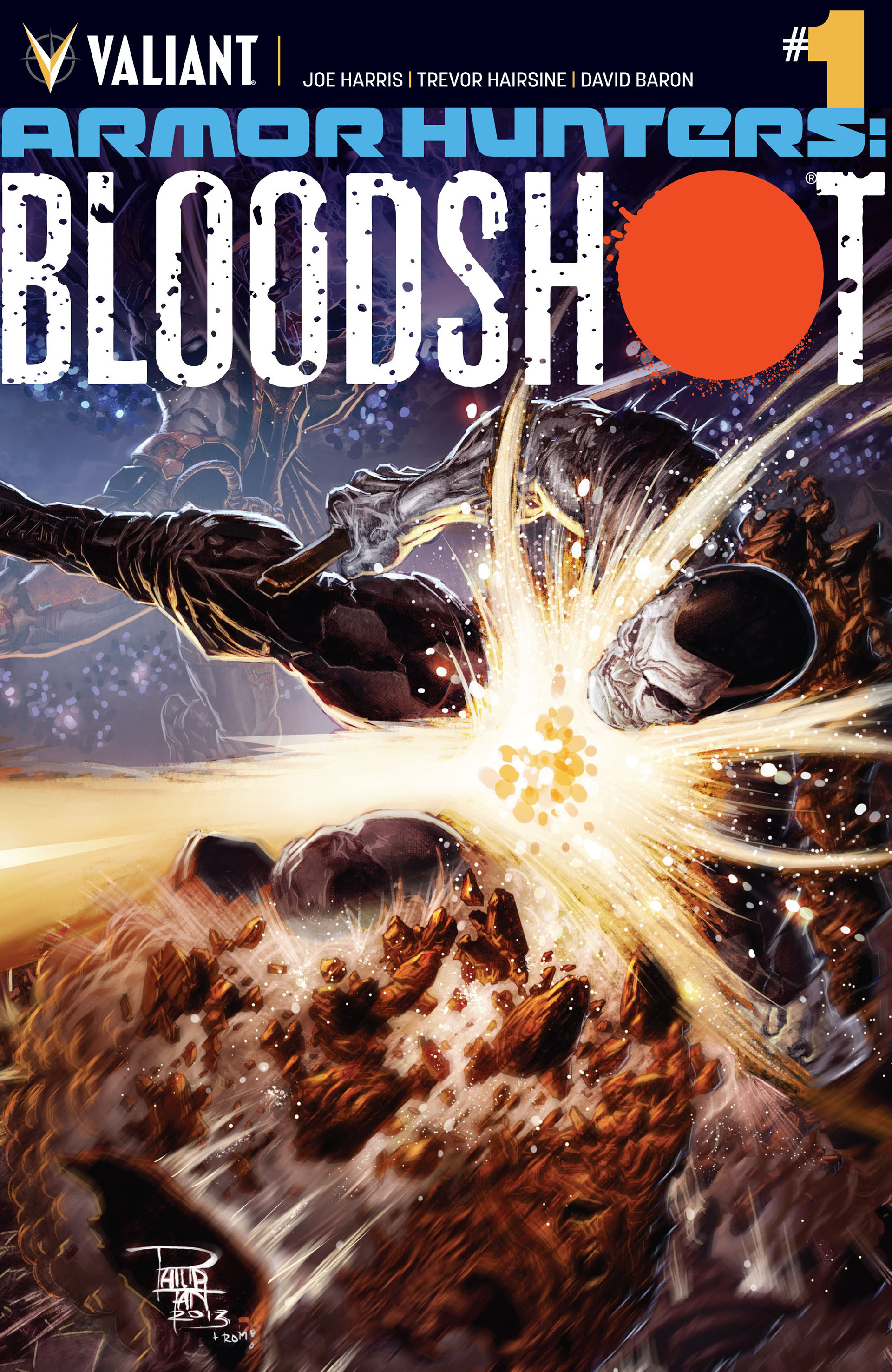 Read online Armor Hunters: Bloodshot comic -  Issue #1 - 1