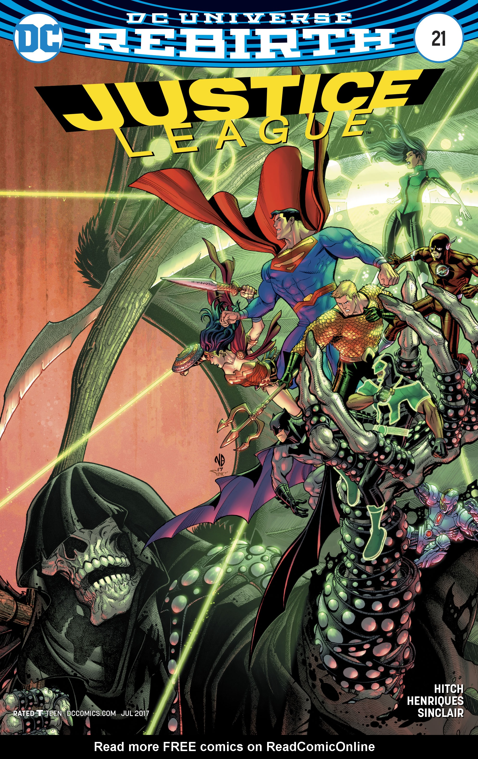 Read online Justice League (2016) comic -  Issue #21 - 3