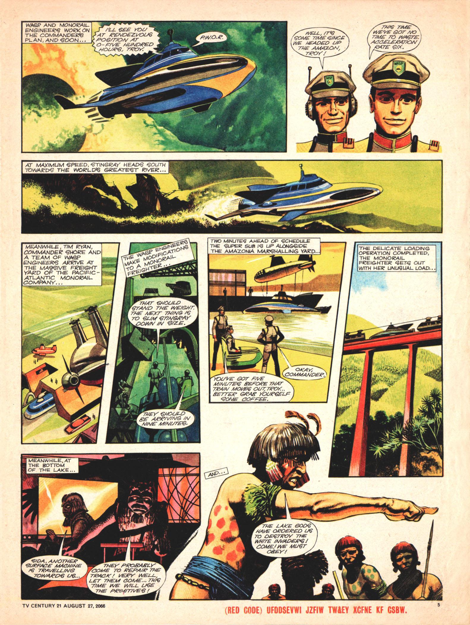 Read online TV Century 21 (TV 21) comic -  Issue #84 - 5