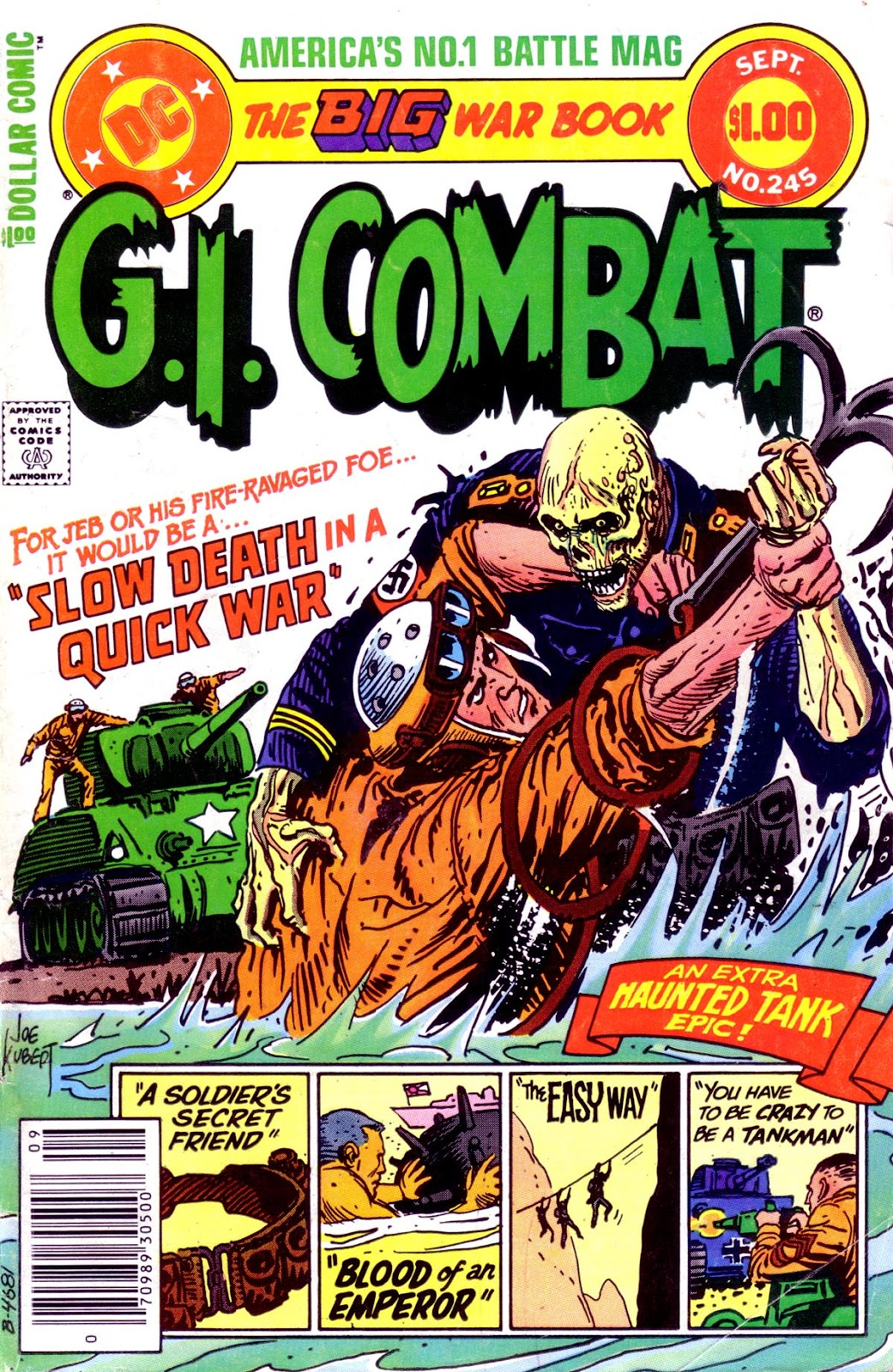 G.I. Combat (1952) issue 245 - Page 1