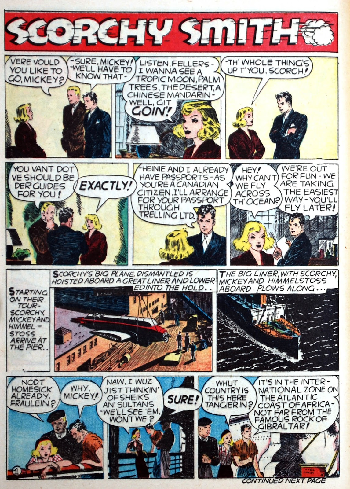 Read online Famous Funnies comic -  Issue #75 - 45