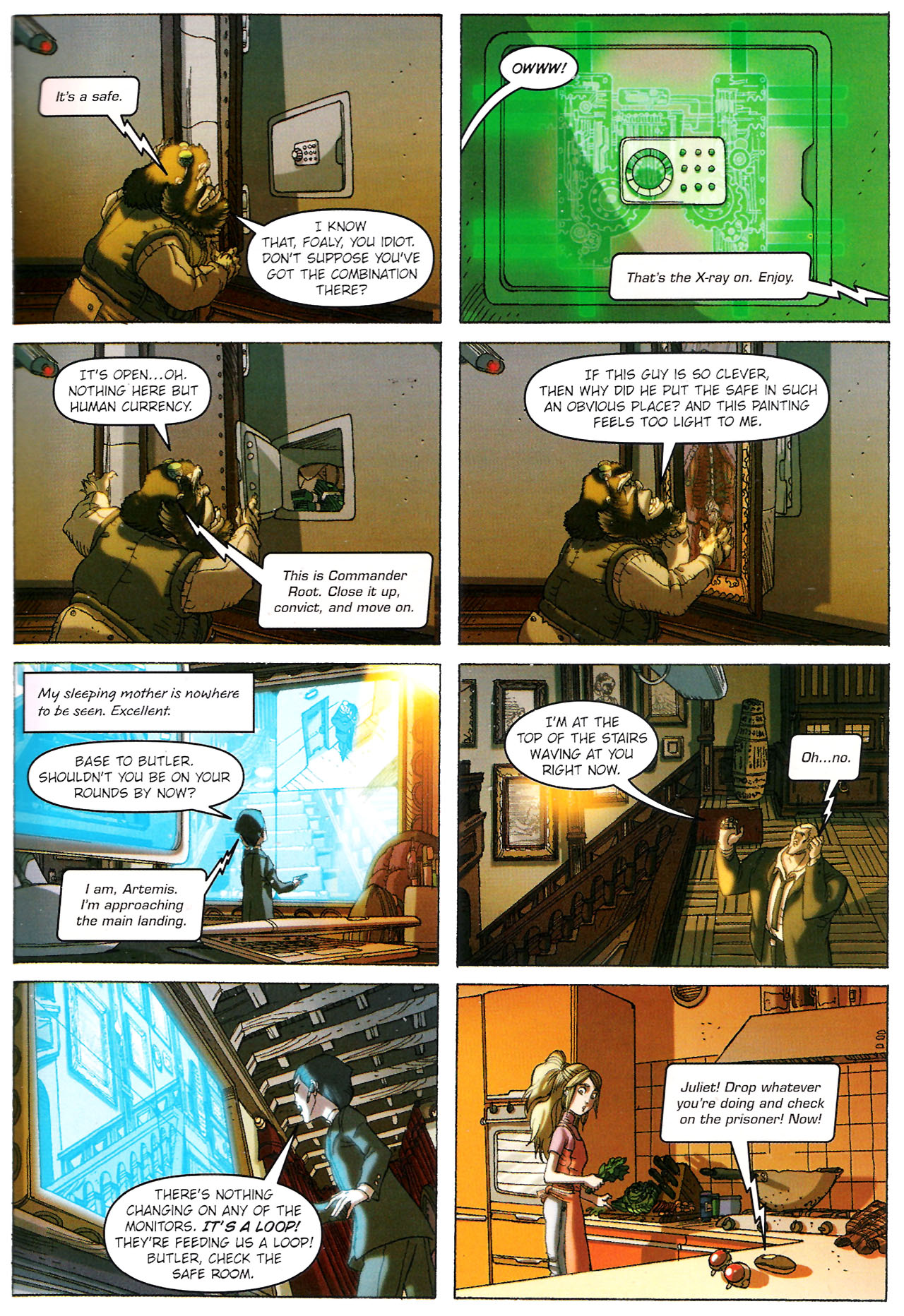 Read online Artemis Fowl: The Graphic Novel comic -  Issue #Artemis Fowl: The Graphic Novel Full - 76