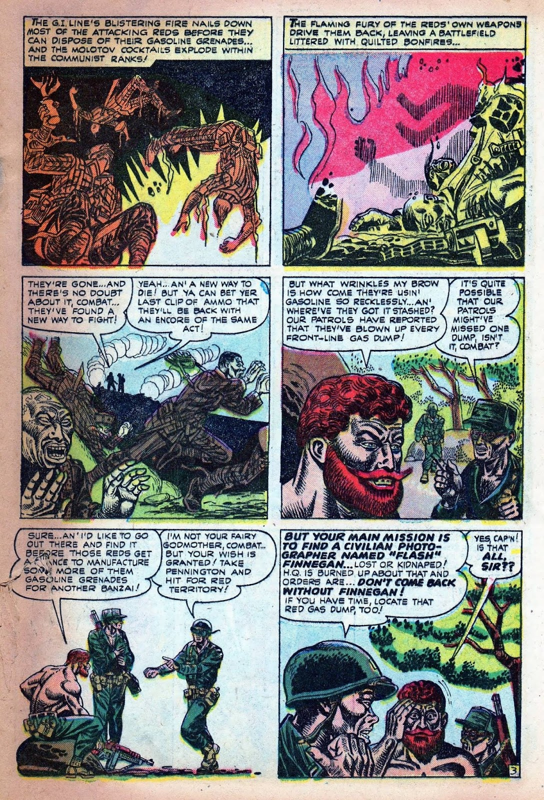 Combat (1952) issue 7 - Page 5