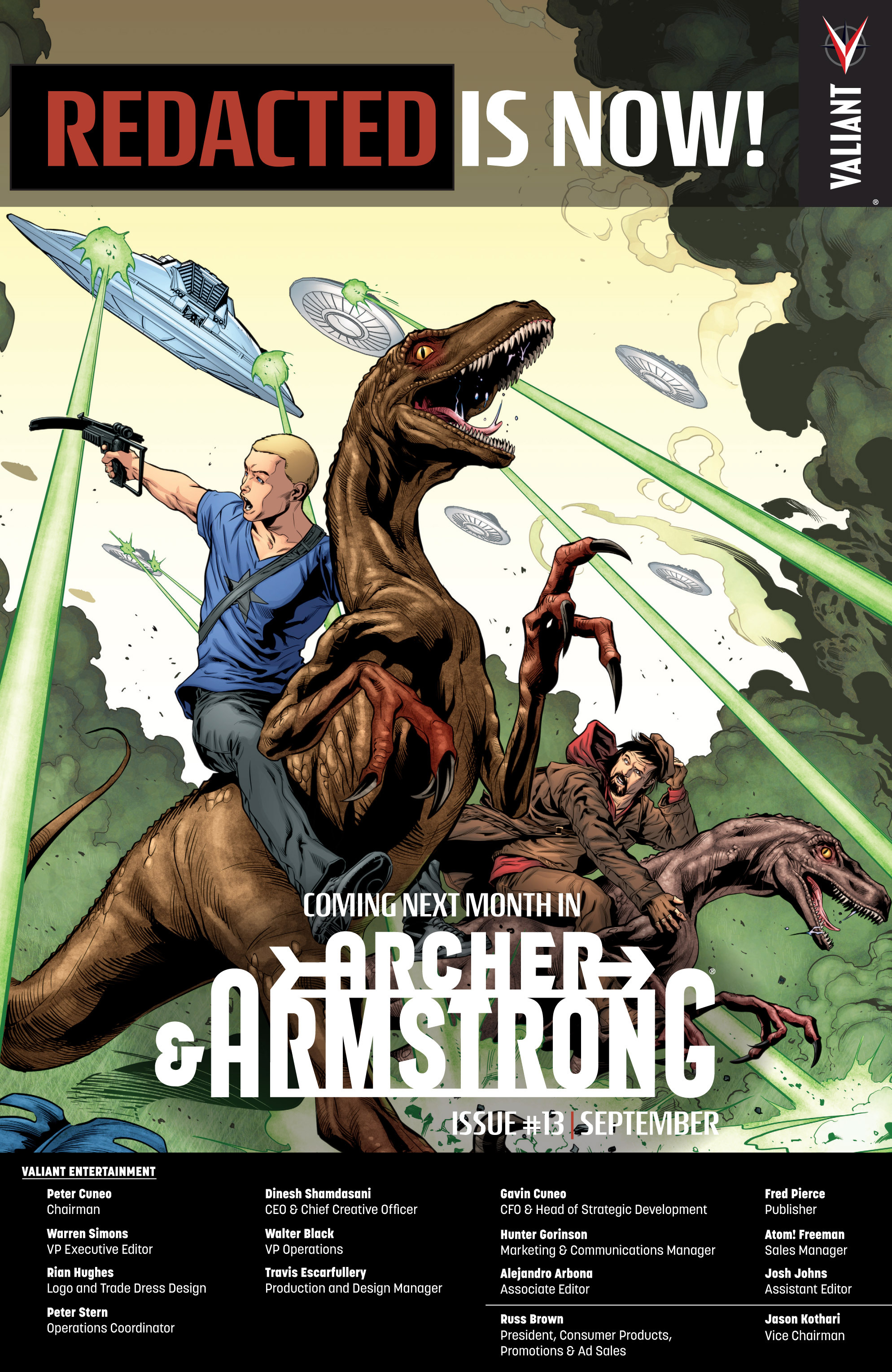 Read online Archer and Armstrong comic -  Issue #12 - 25