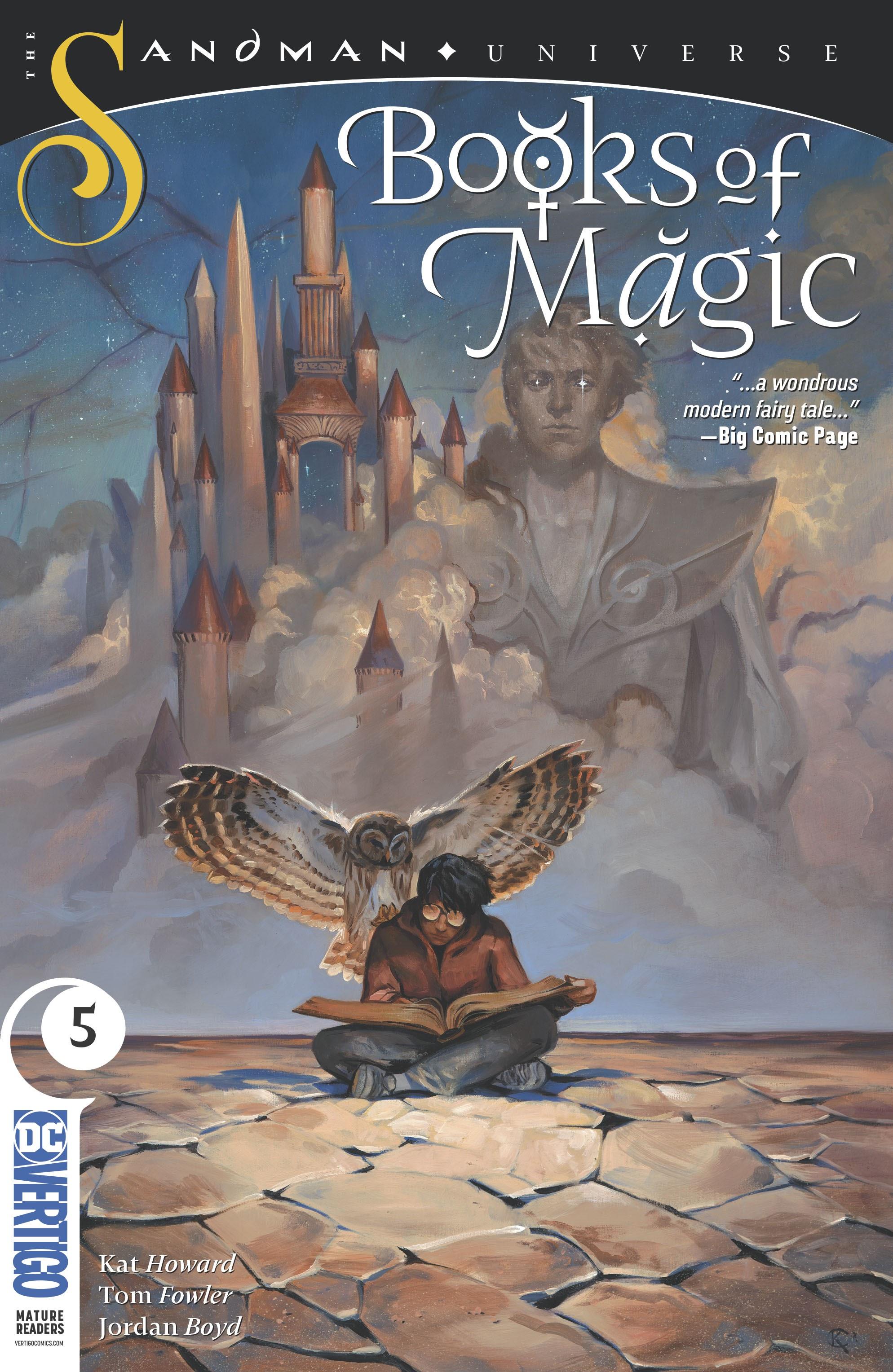 Books of Magic 2018 Issue 5