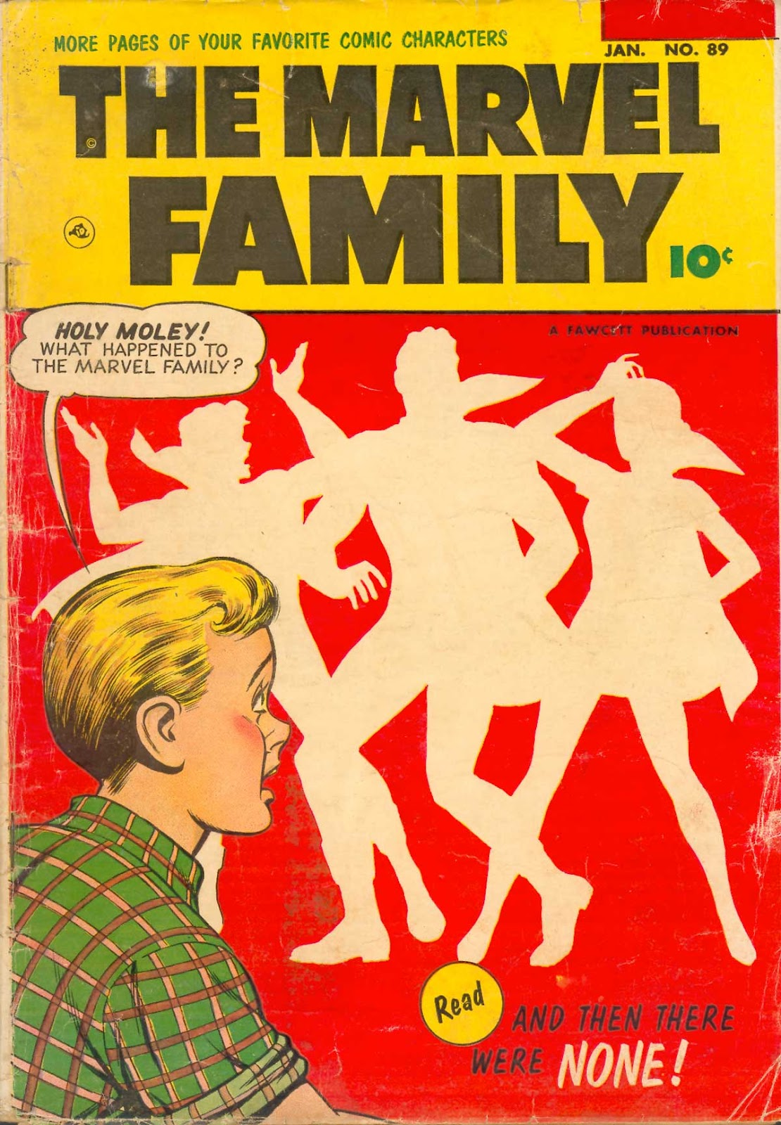 The Marvel Family 89 Page 1