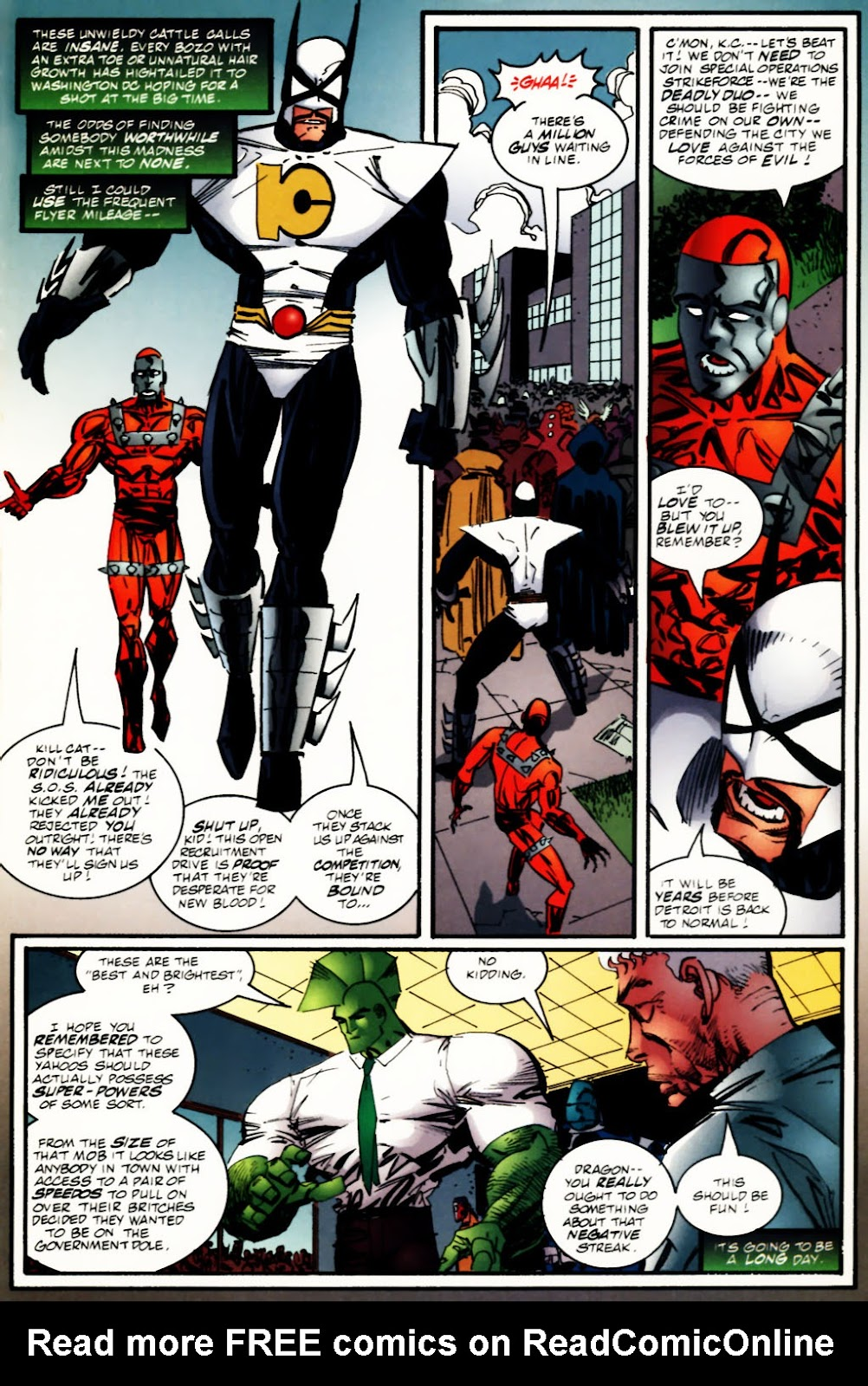 The Savage Dragon (1993) Issue #60 #63 - English 9