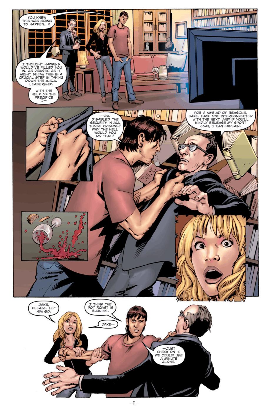 Read online Jericho Season 4 comic -  Issue #2 - 13