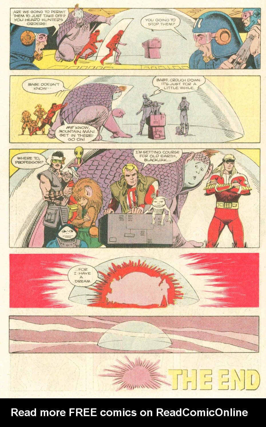 Read online Atari Force (1984) comic -  Issue #20 - 19