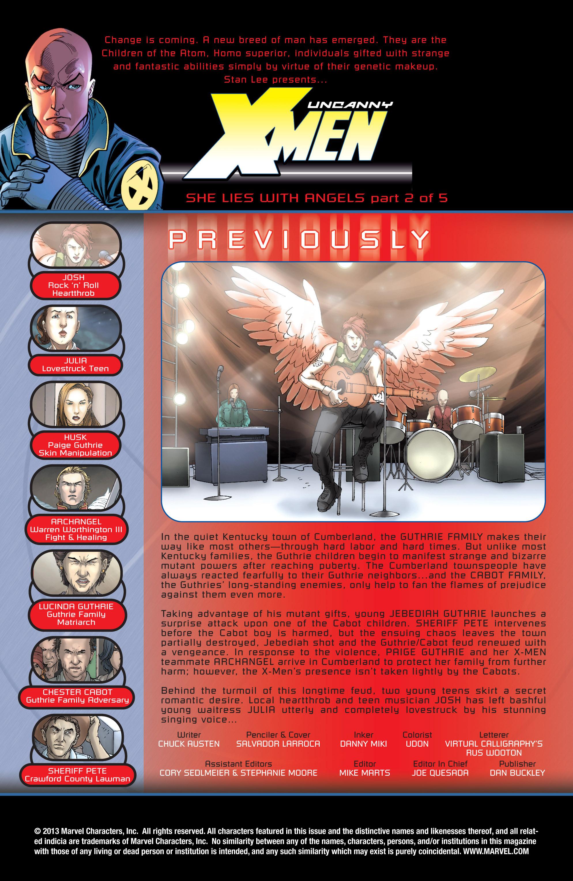 Read online Uncanny X-Men (1963) comic -  Issue #438 - 2