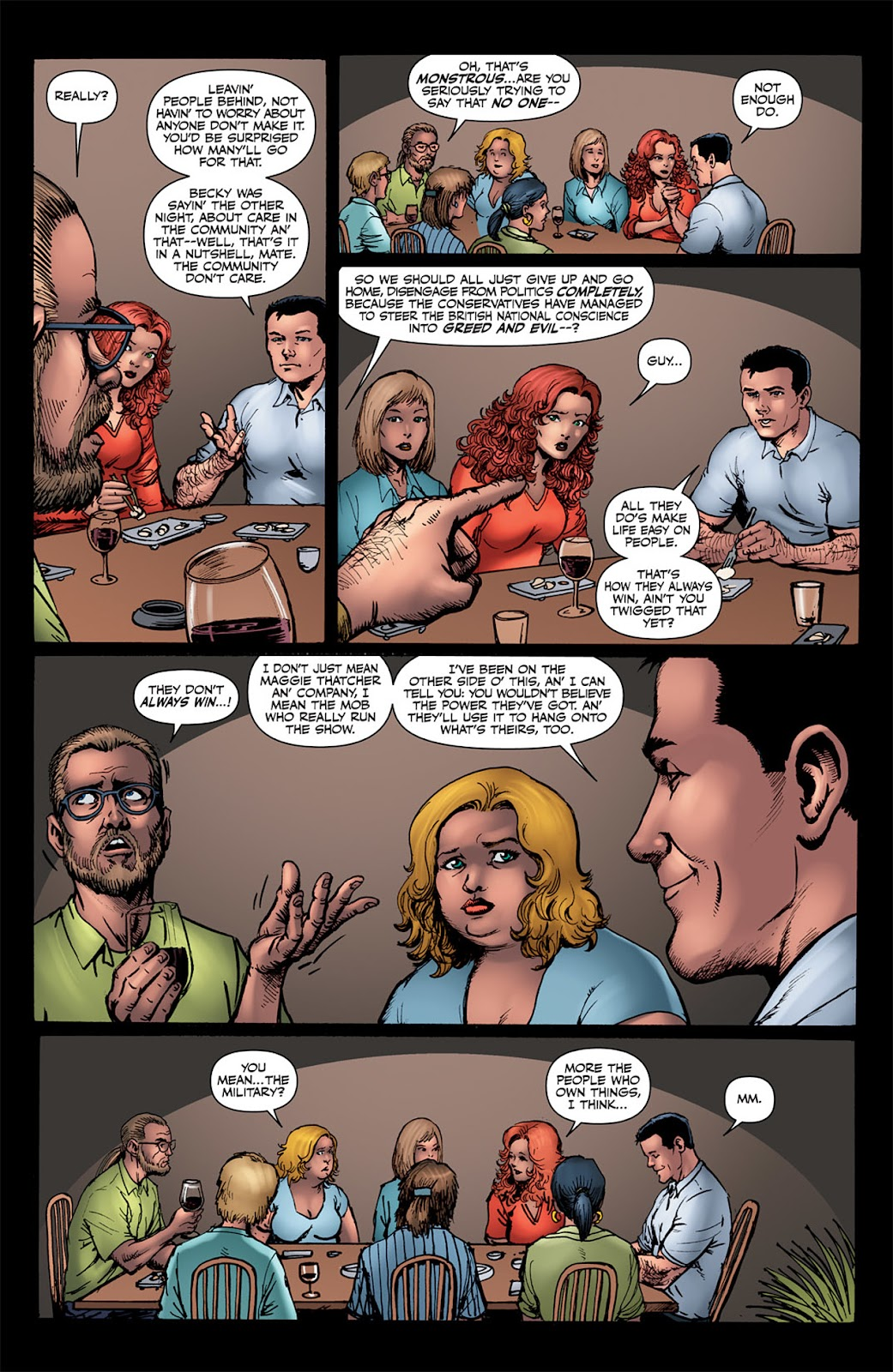 Read online The Boys: Butcher, Baker, Candlestickmaker comic -  Issue #4 - 11