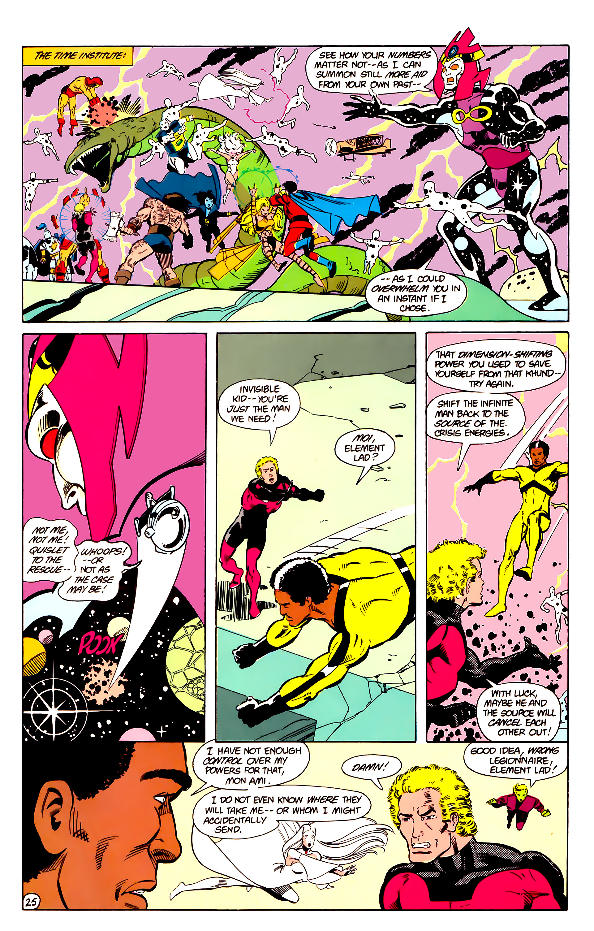 Legion of Super-Heroes (1984) 18 Page 25