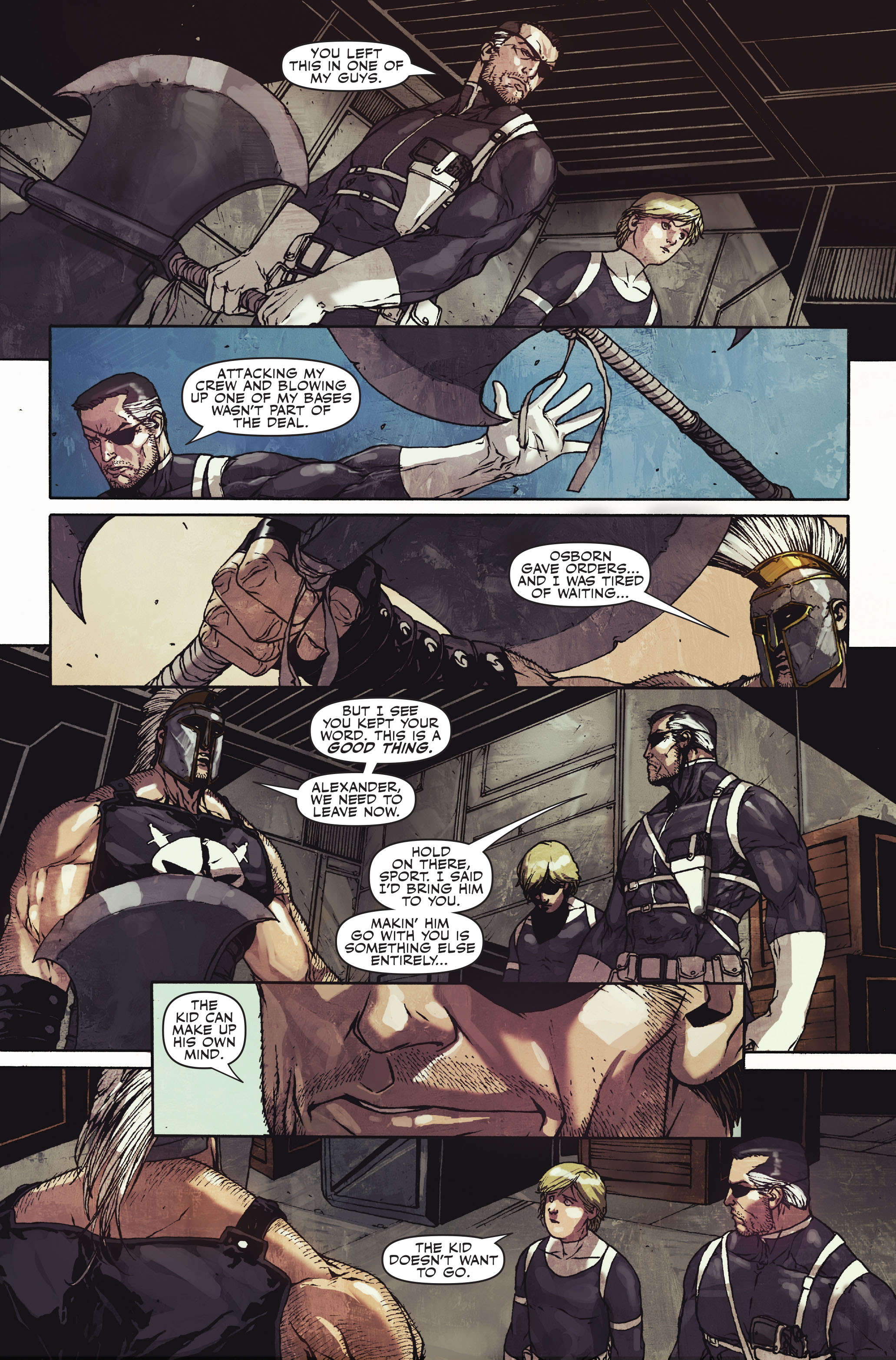 Read online Secret Warriors comic -  Issue #10 - 18