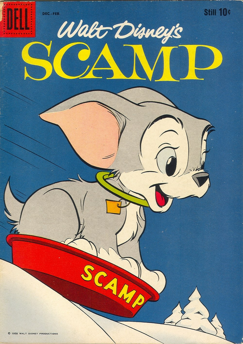 Scamp (1958) issue 8 - Page 1