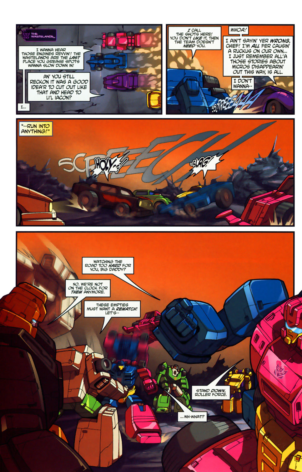 Read online Transformers: Micromasters comic -  Issue #1 - 22