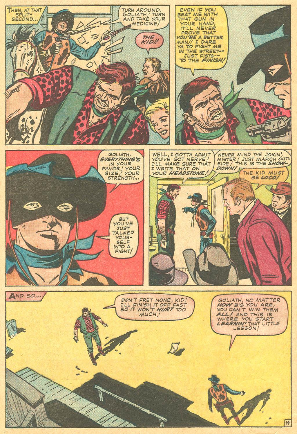 Read online Two-Gun Kid comic -  Issue #69 - 20
