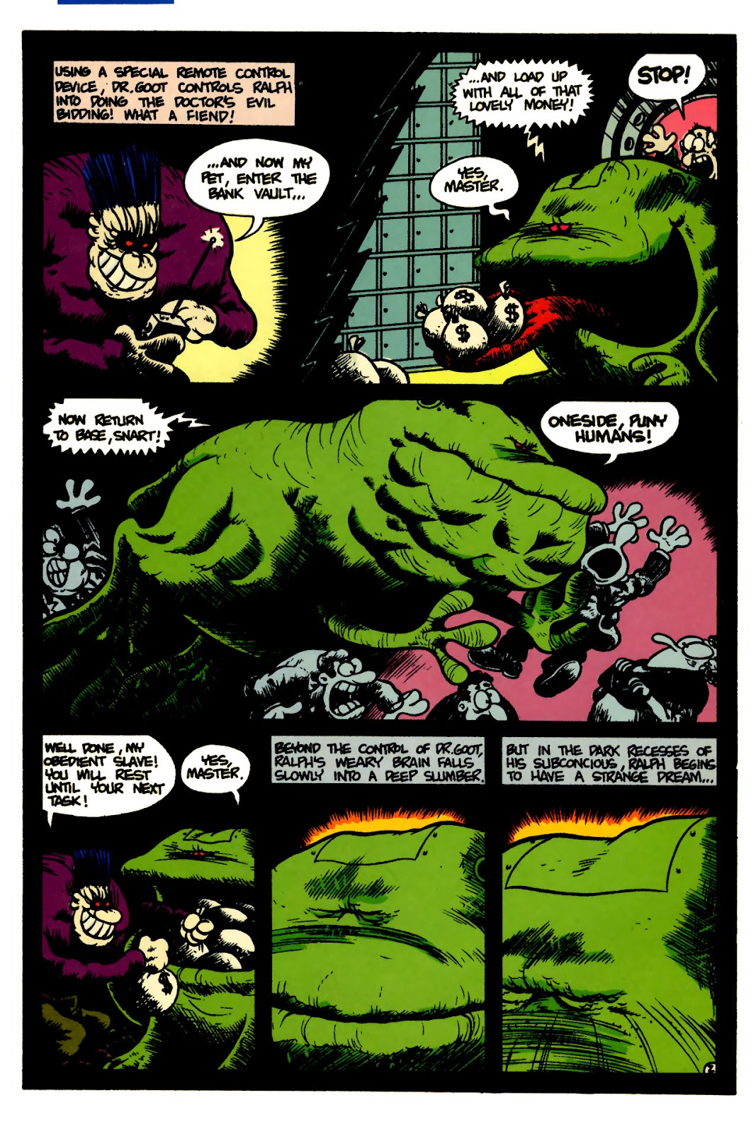 Ralph Snart Adventures (1988) issue 5 - Page 4