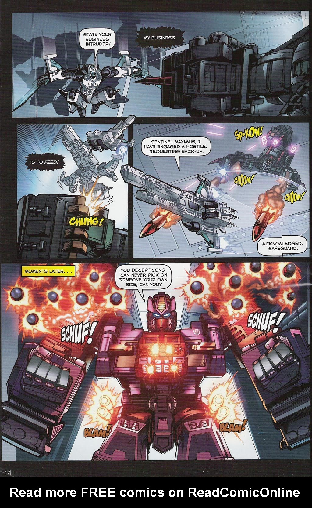 Read online Transformers: Collectors' Club comic -  Issue #4 - 14
