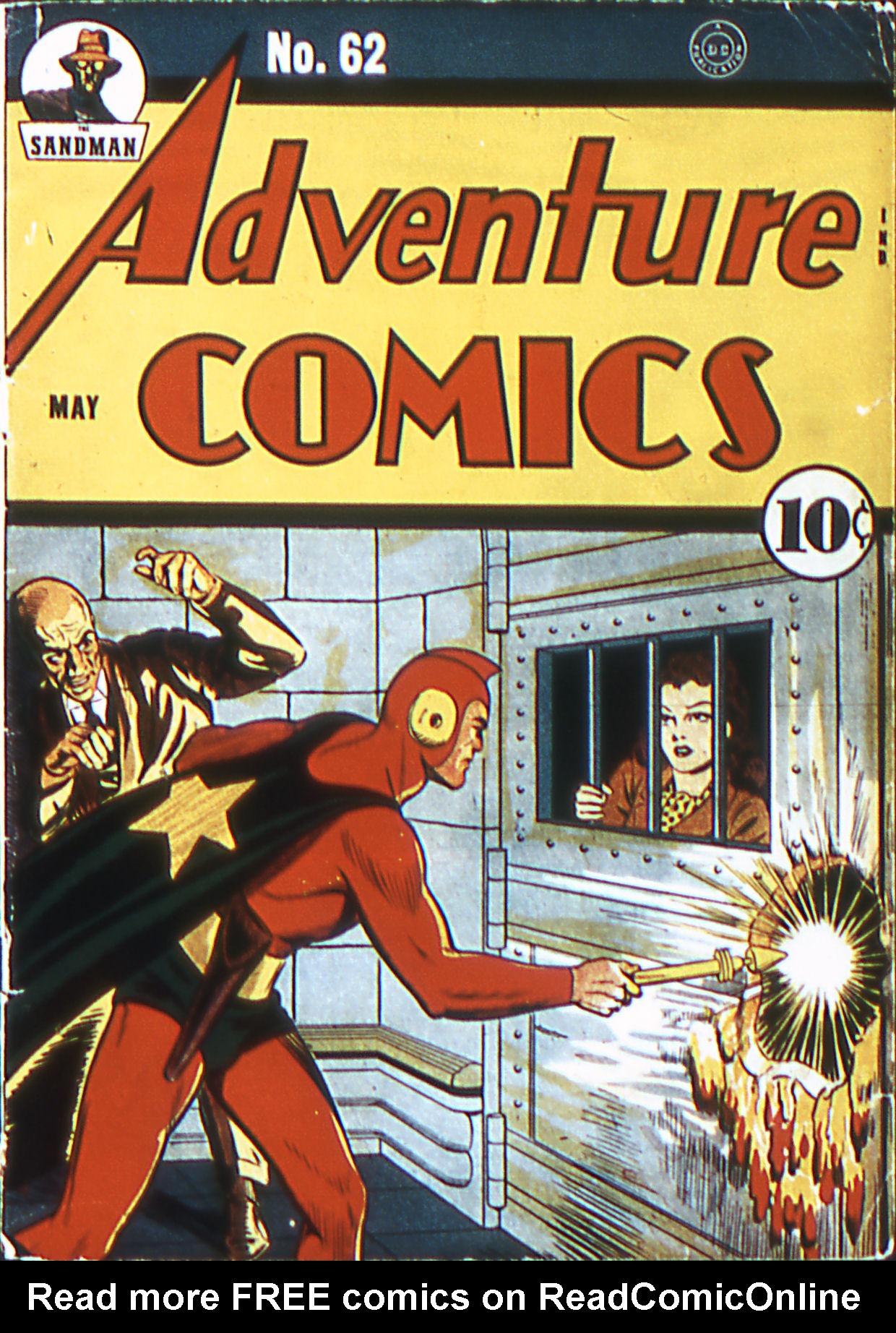 Read online Adventure Comics (1938) comic -  Issue #62 - 1