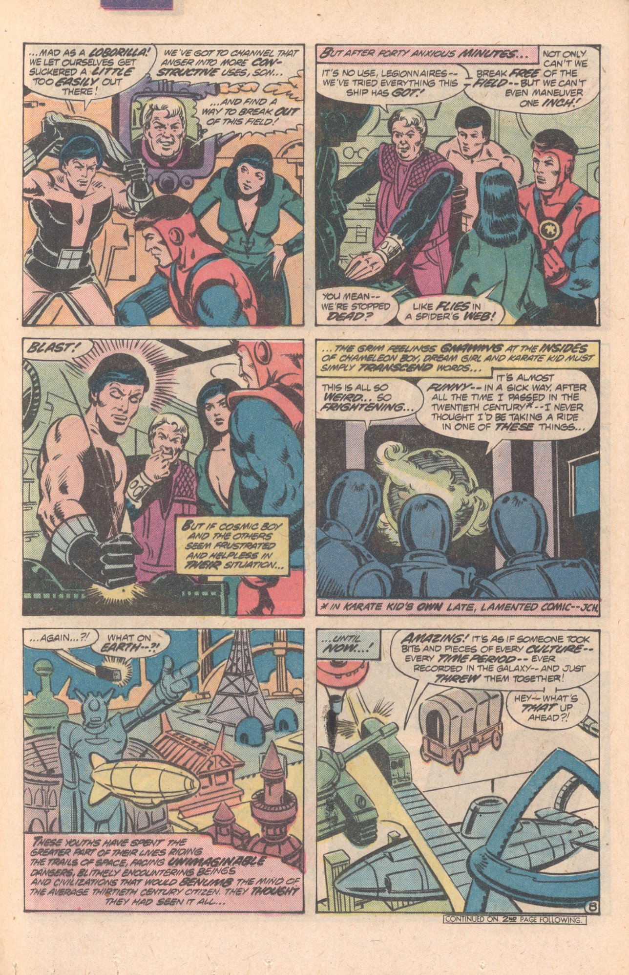 Legion of Super-Heroes (1980) 268 Page 8