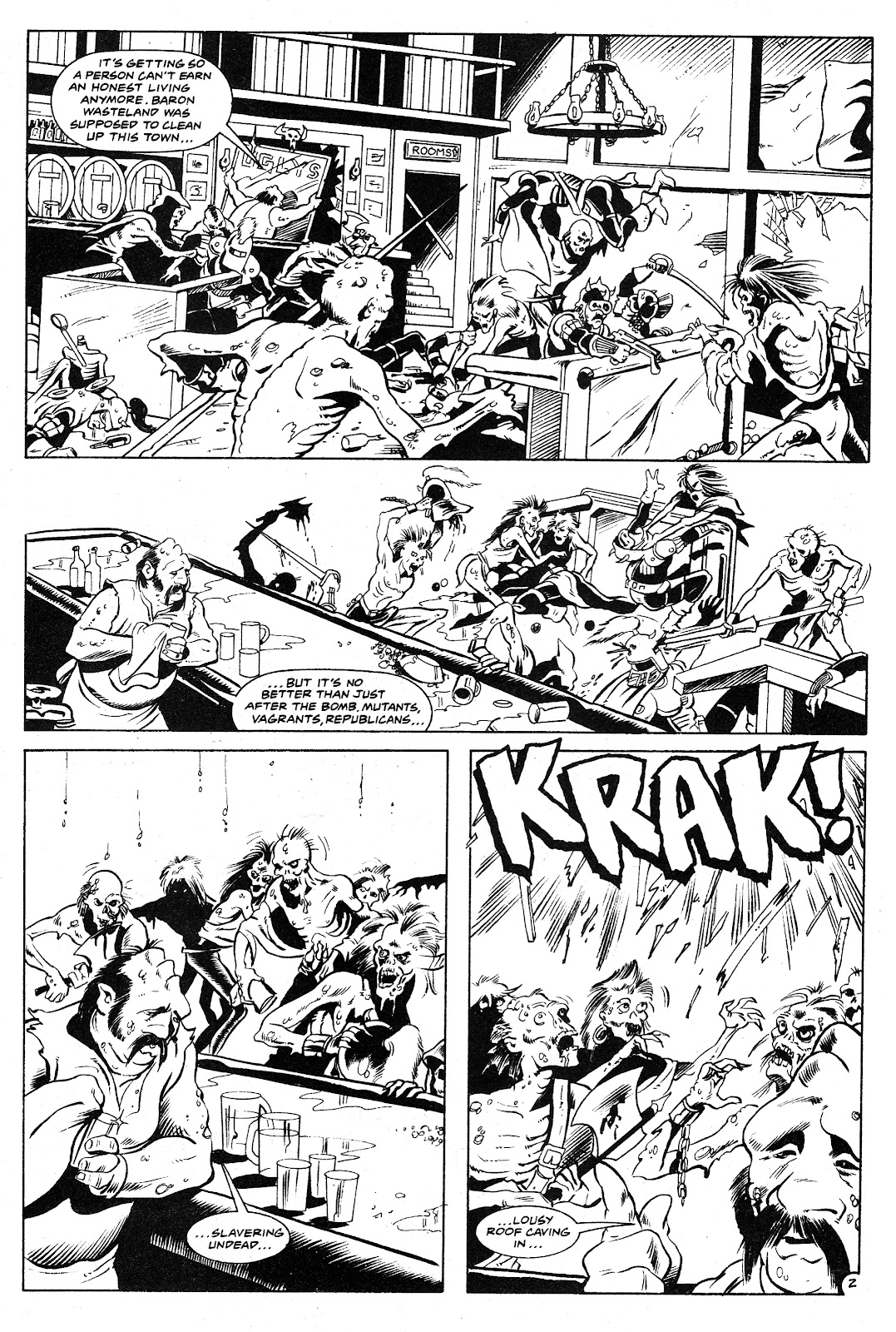 Ex-Mutants: The Shattered Earth Chronicles issue 9 - Page 4