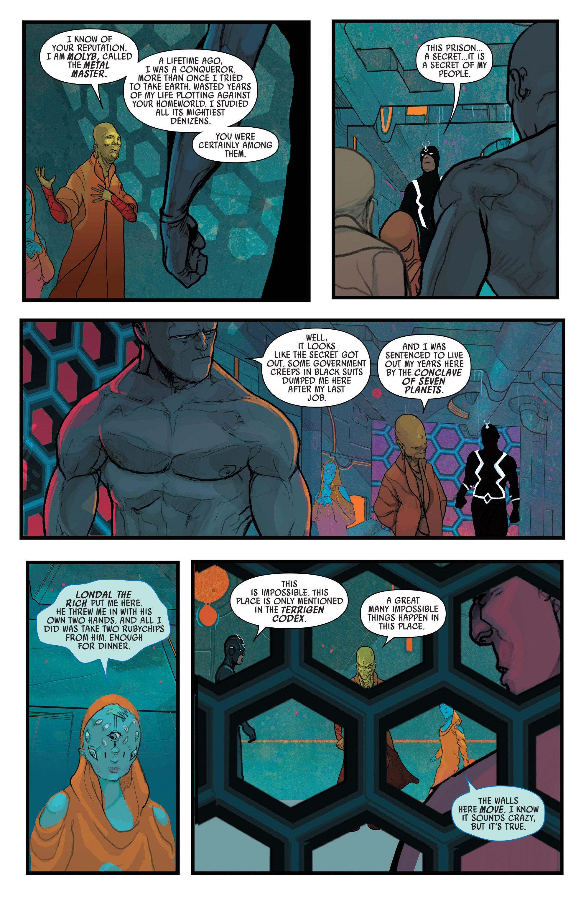 Read online Black Bolt comic -  Issue #2 - 8