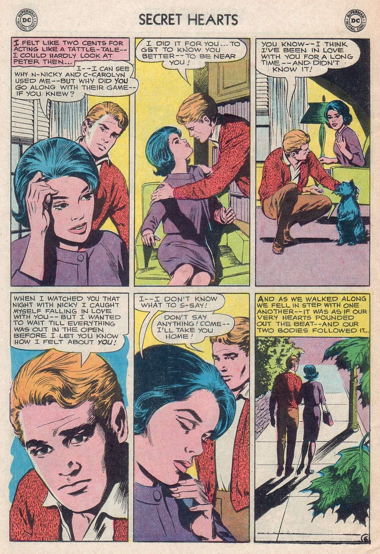 Read online Secret Hearts comic -  Issue #107 - 22