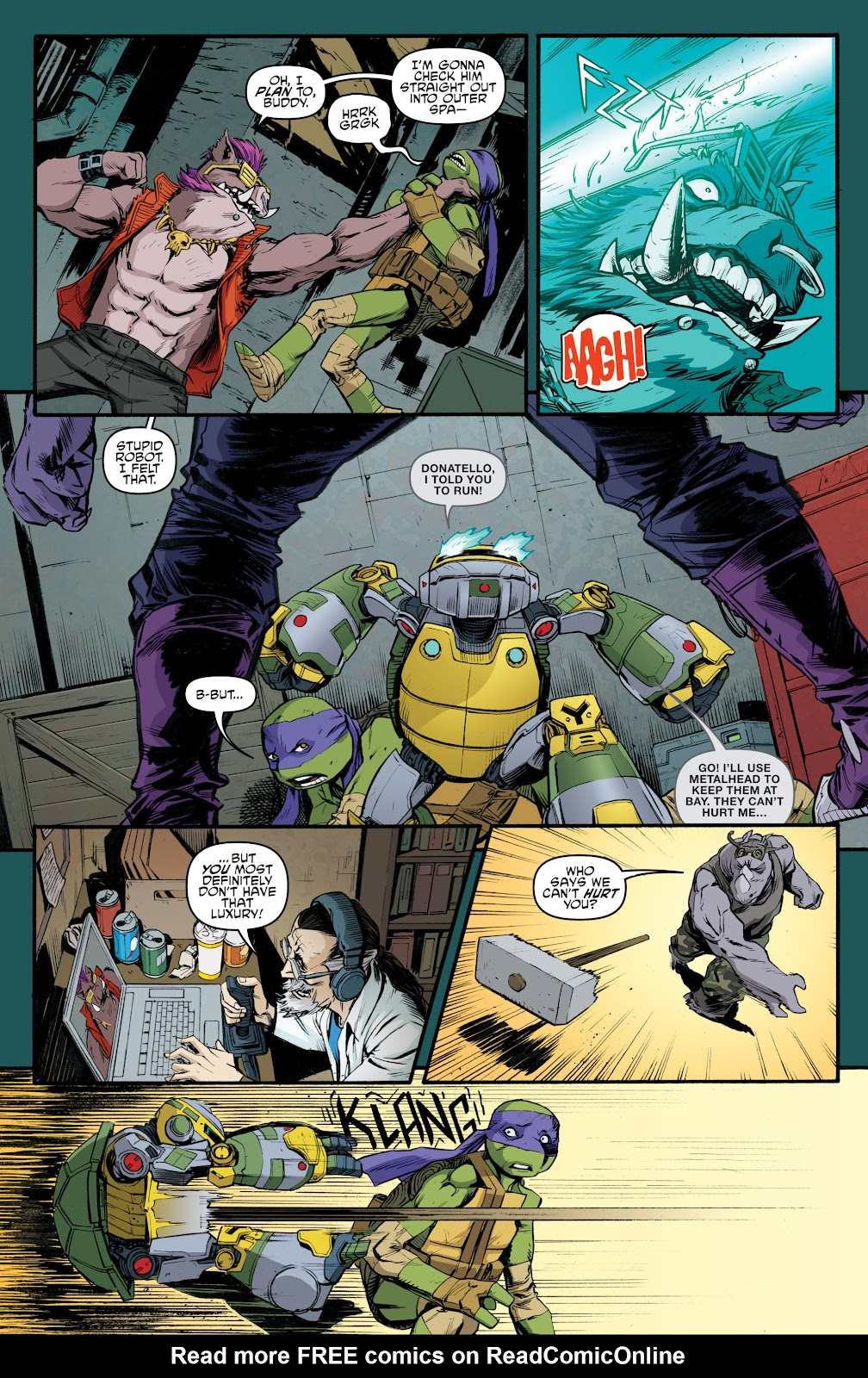 Read online Teenage Mutant Ninja Turtles: The IDW Collection comic -  Issue # TPB 5 (Part 4) - 37